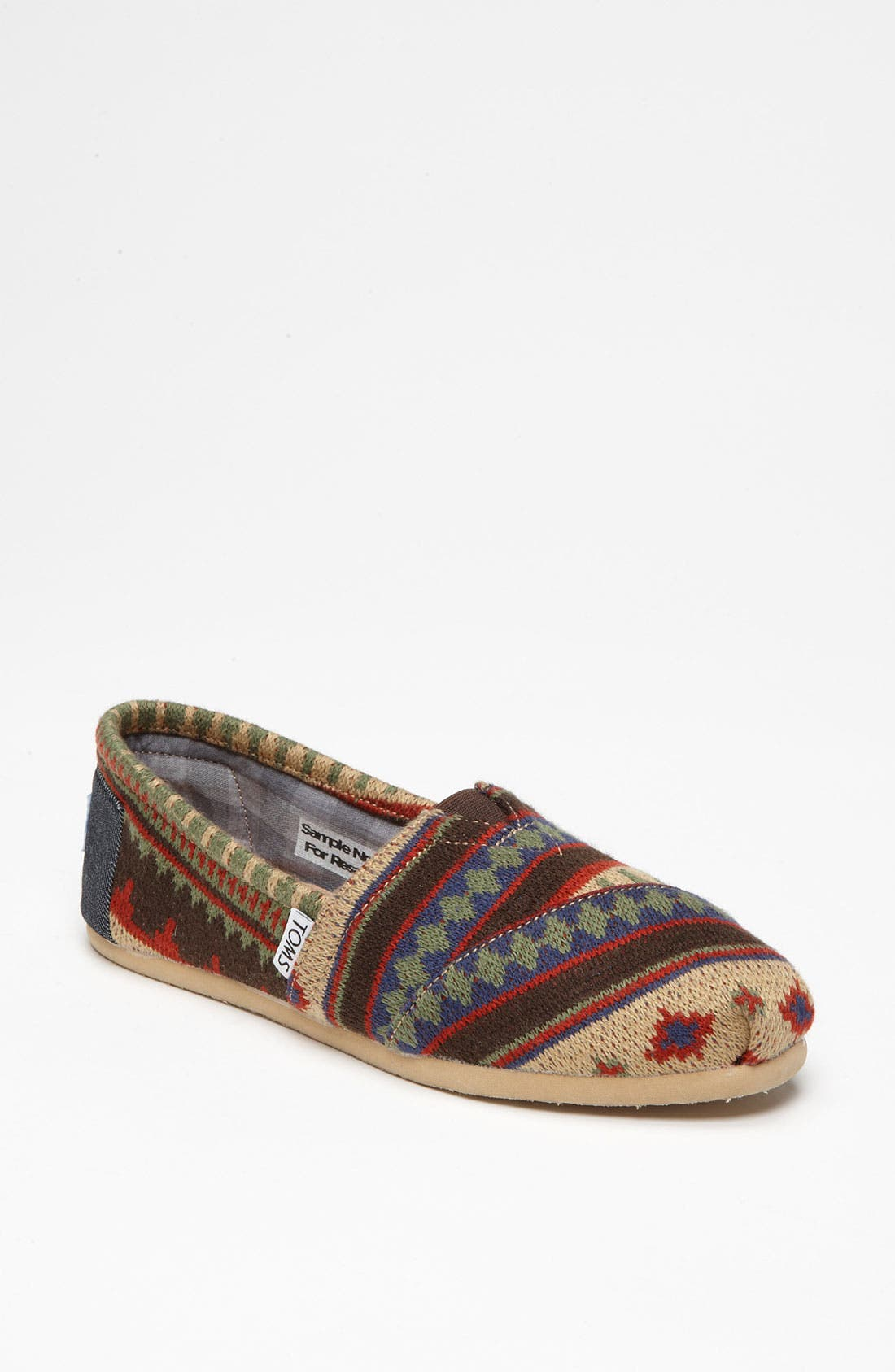 Alternate Image 1 Selected - TOMS 'Classic - Kilim' Slip-On