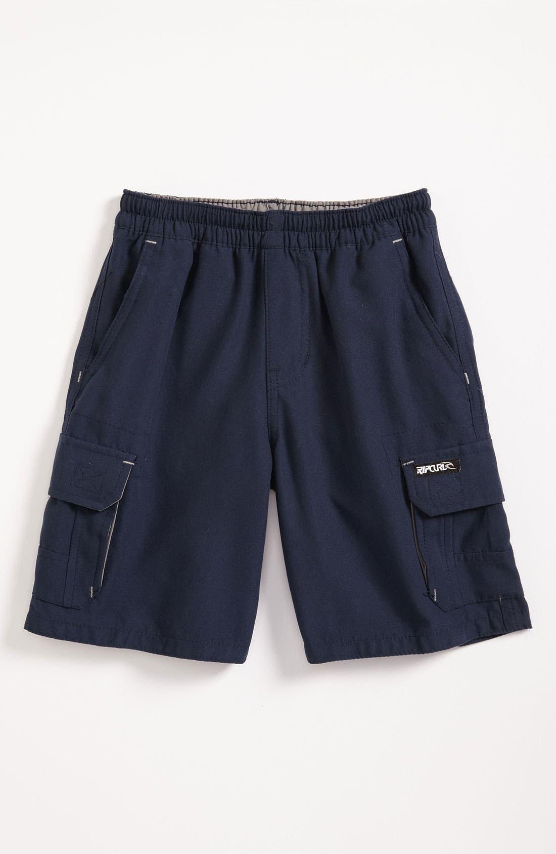 Alternate Image 1 Selected - Rip Curl 'Hamilton' Walking Shorts (Toddler)