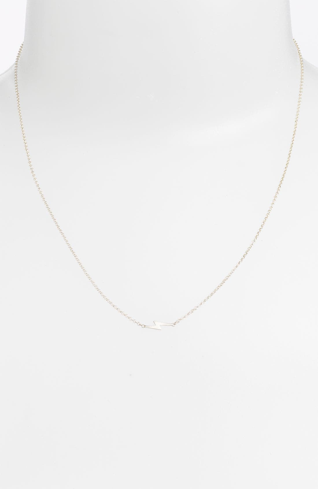 Alternate Image 2  - Dogeared 'Charmed - Bolt' Pendant Necklace
