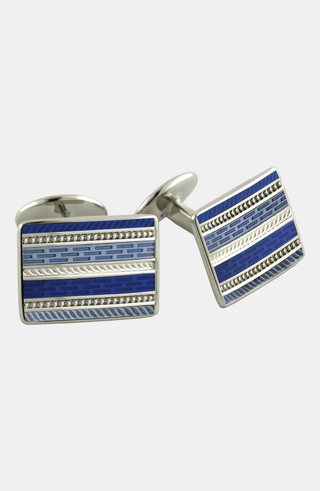 Sterling Silver Cuff Links,                         Main,                         color,