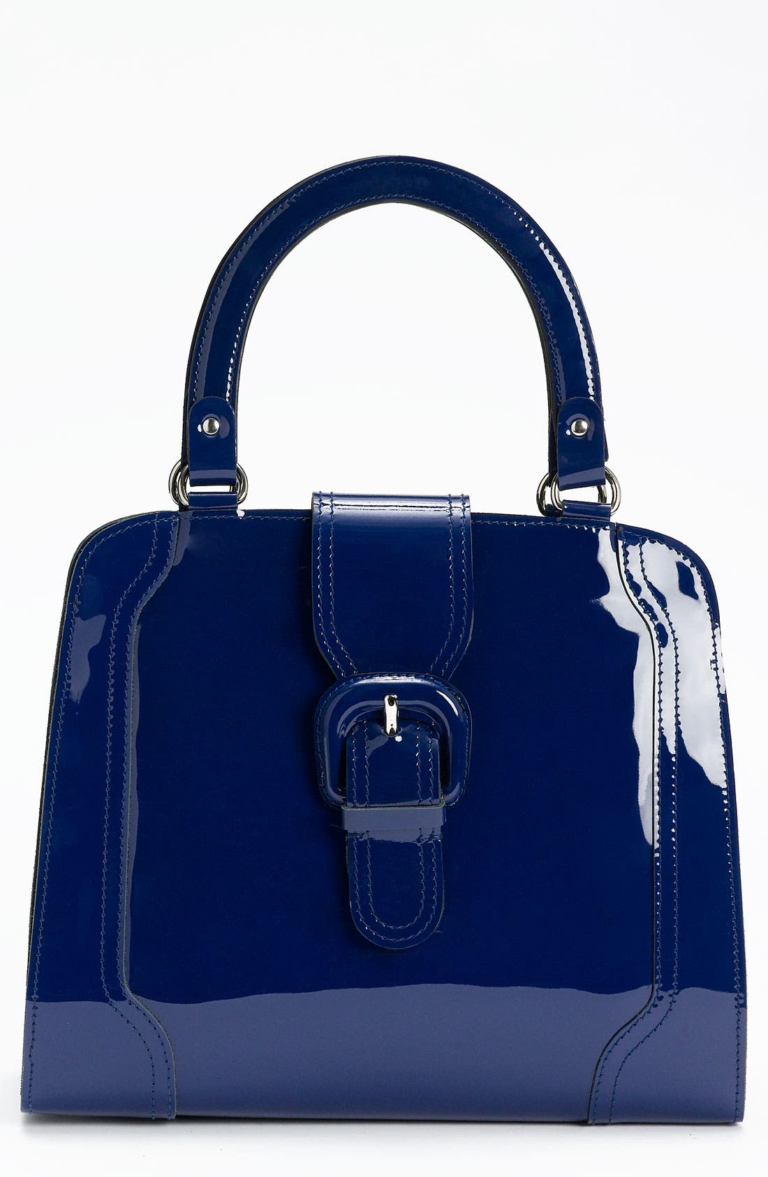 Main Image - Marni 'Medium' Patent Leather Frame Bag
