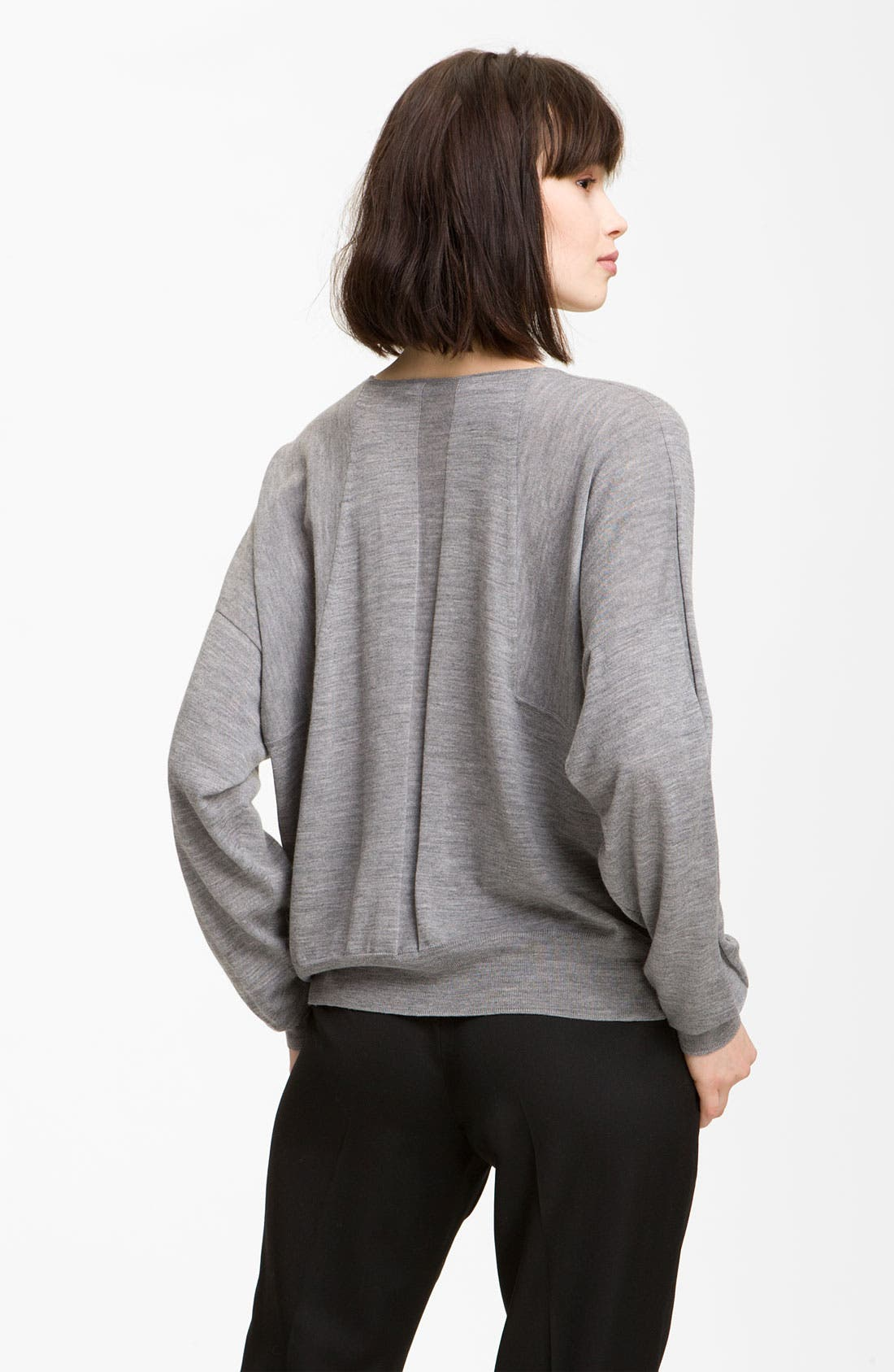 Alternate Image 2  - Alexander Wang Crop Merino Wool Top