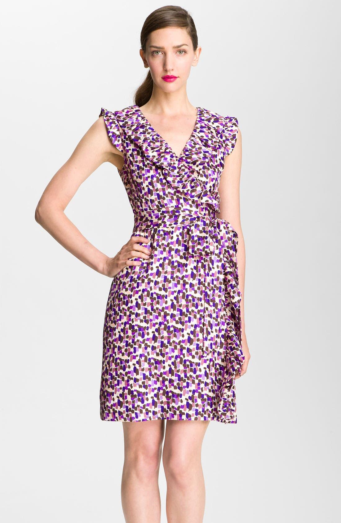 Main Image - kate spade new york 'aubrey' wrap dress