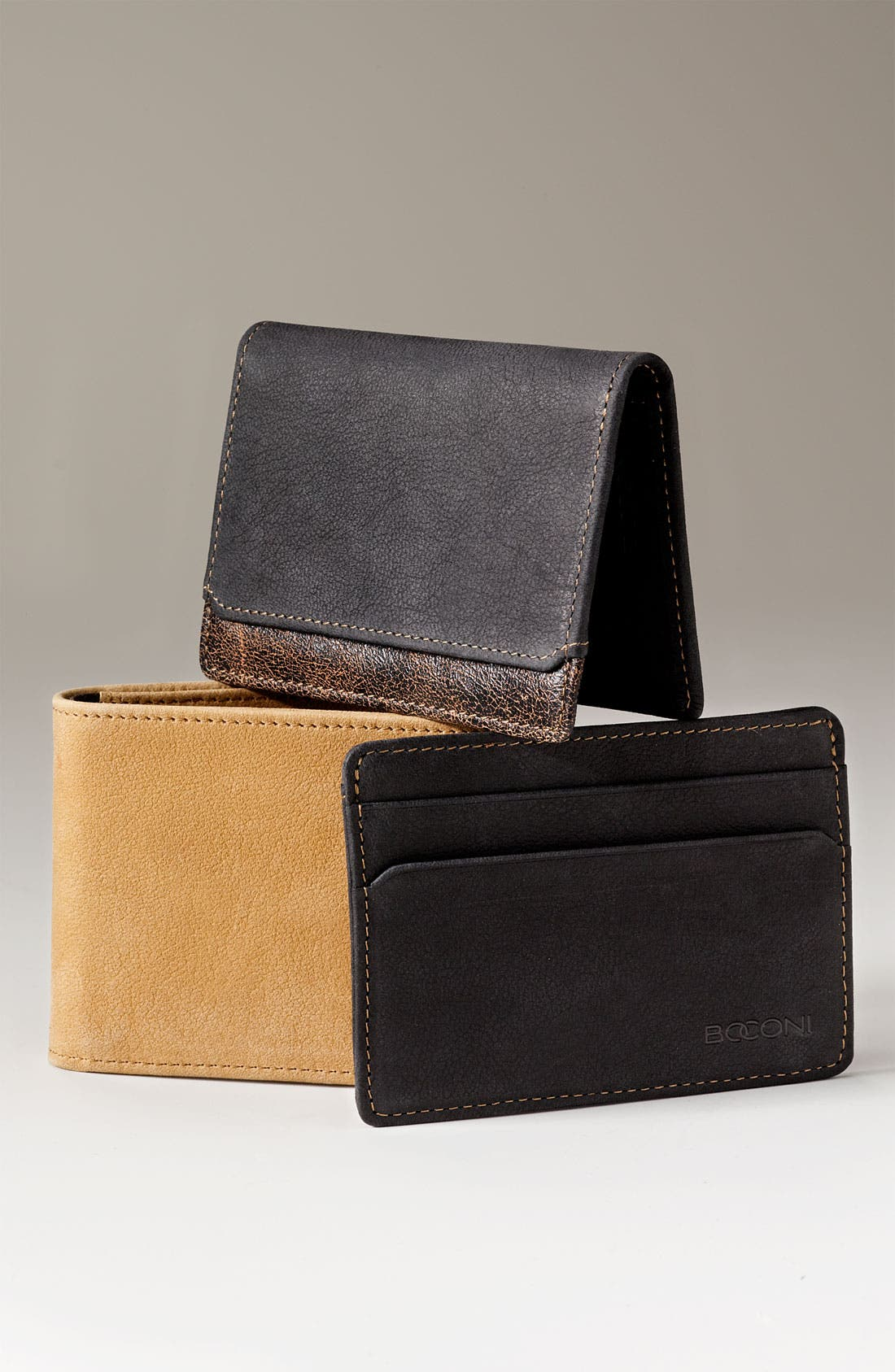 Alternate Image 2  - Boconi 'Leon - Slim' Leather Card Case