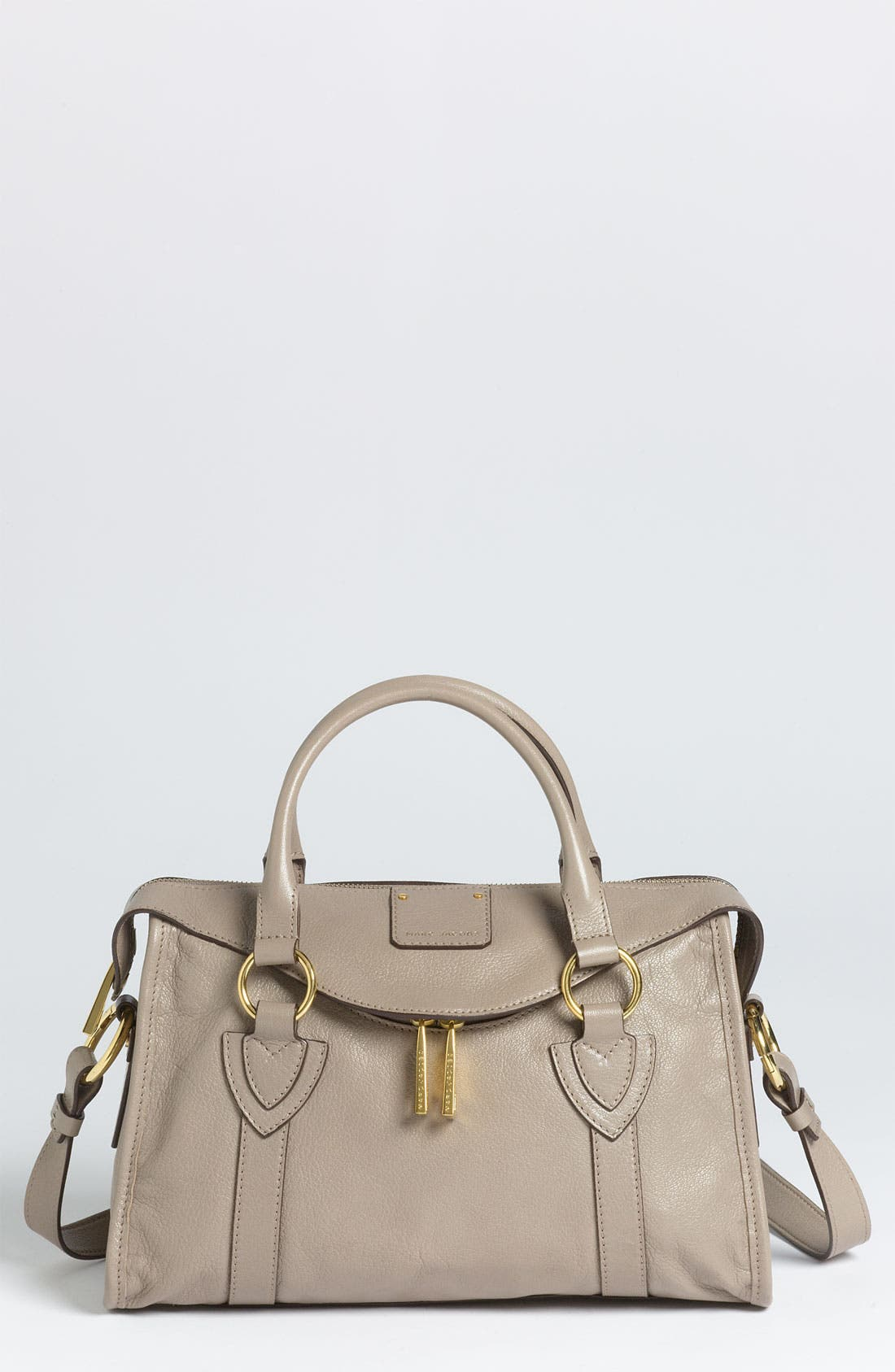 Main Image - MARC JACOBS 'Wellington - Small Fulton' Leather Satchel