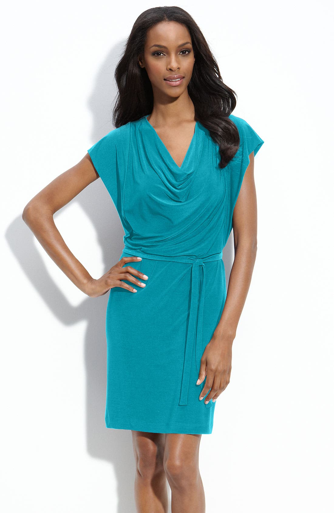 Main Image - Alex & Ava Jersey Sheath Dress