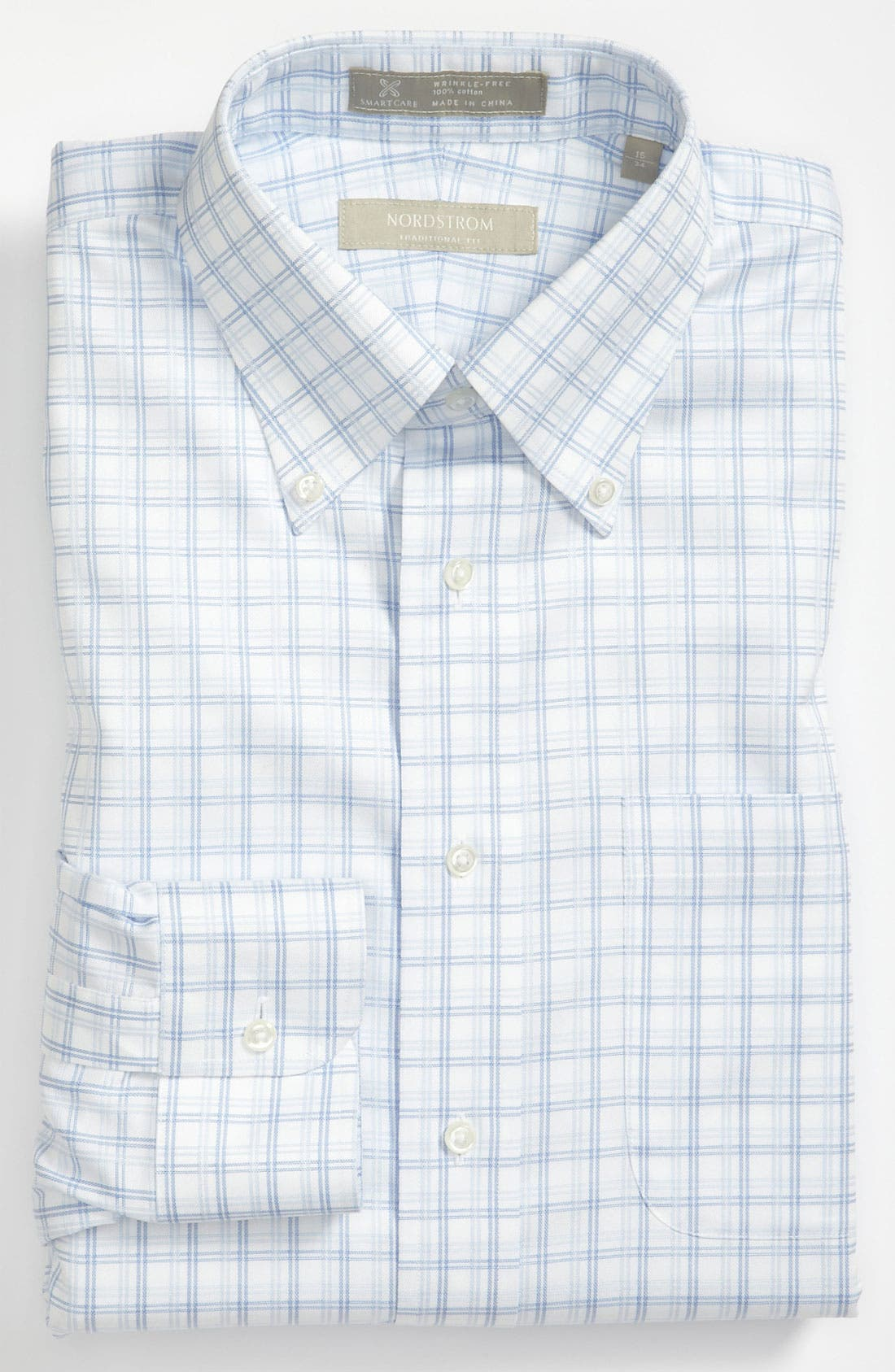 Alternate Image 1 Selected - Nordstrom Smartcare™ Traditional Fit Dress Shirt