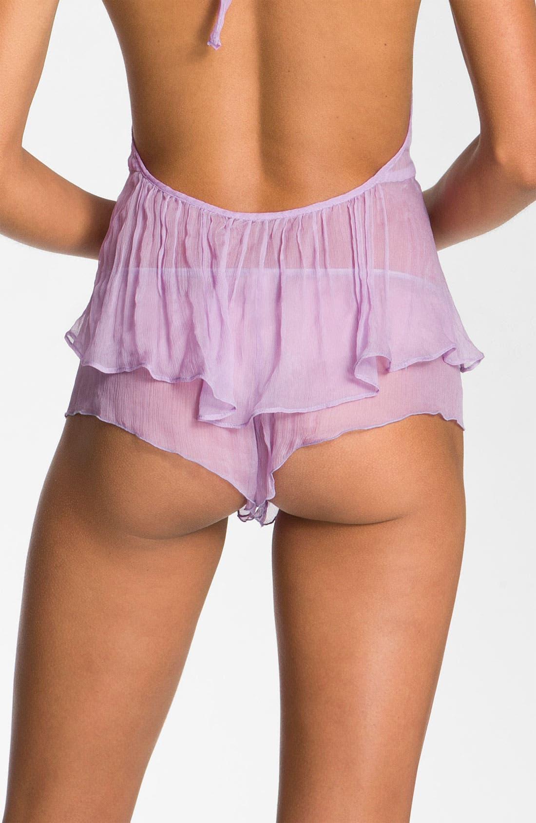 Alternate Image 2  - Zinke 'First Kiss' Flutter Shorts