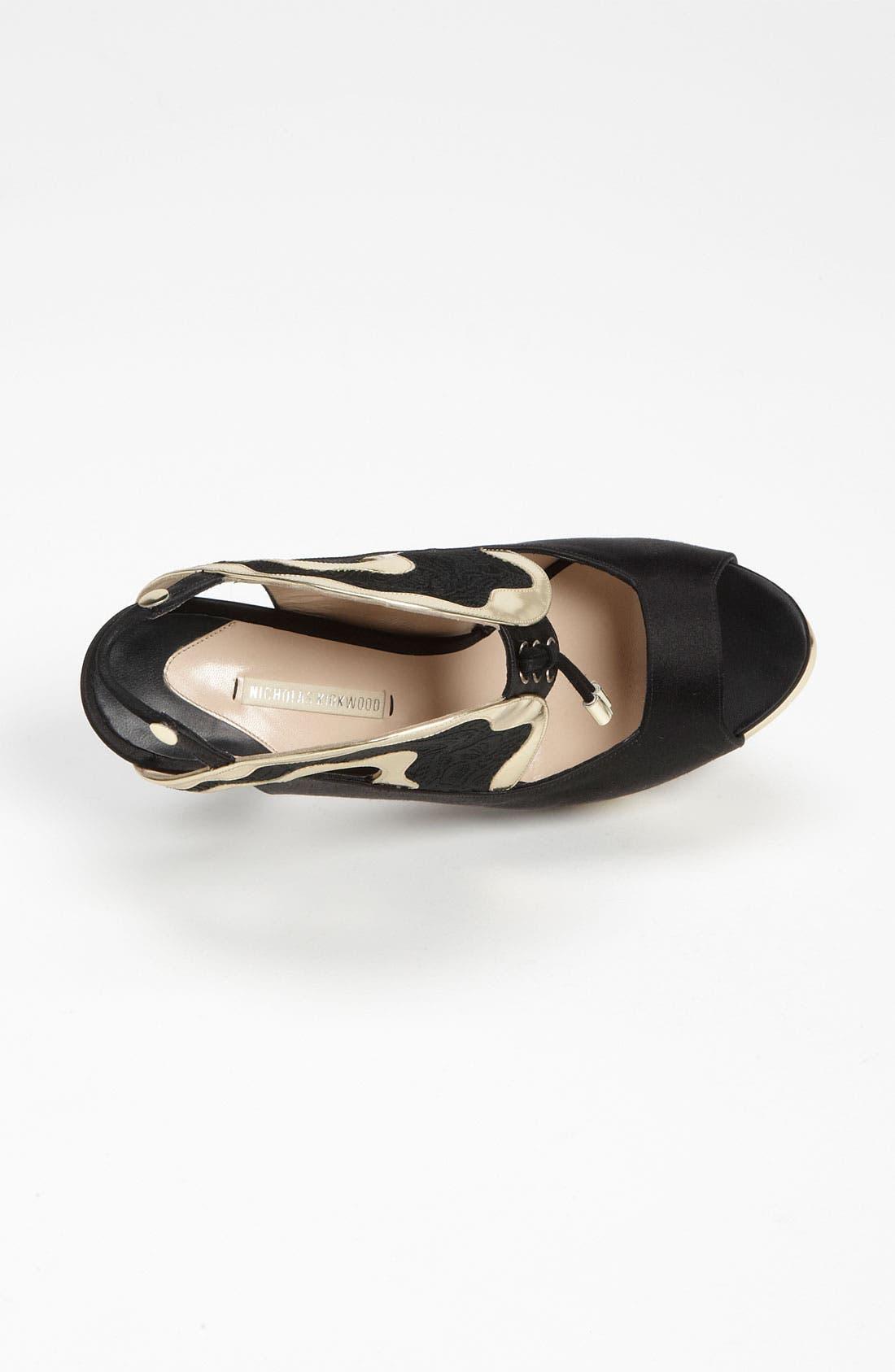 Alternate Image 3  - Nicholas Kirkwood Peep Toe Sandal