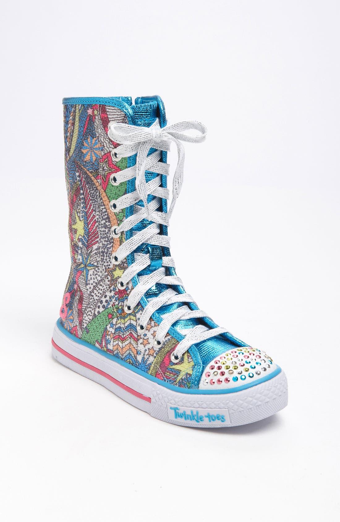 Alternate Image 1 Selected - SKECHERS 'Dizzy Diva' Sneaker (Toddler & Little Kid)