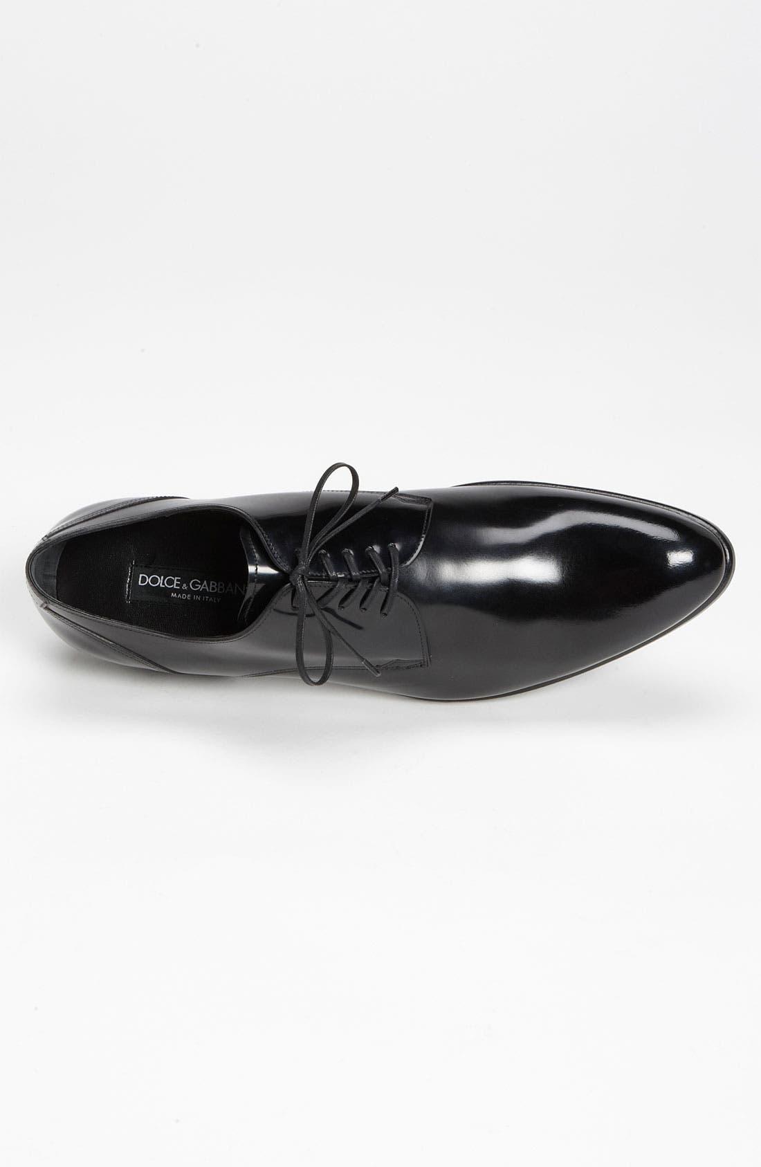 Alternate Image 3  - Dolce&Gabbana Plain Toe Derby