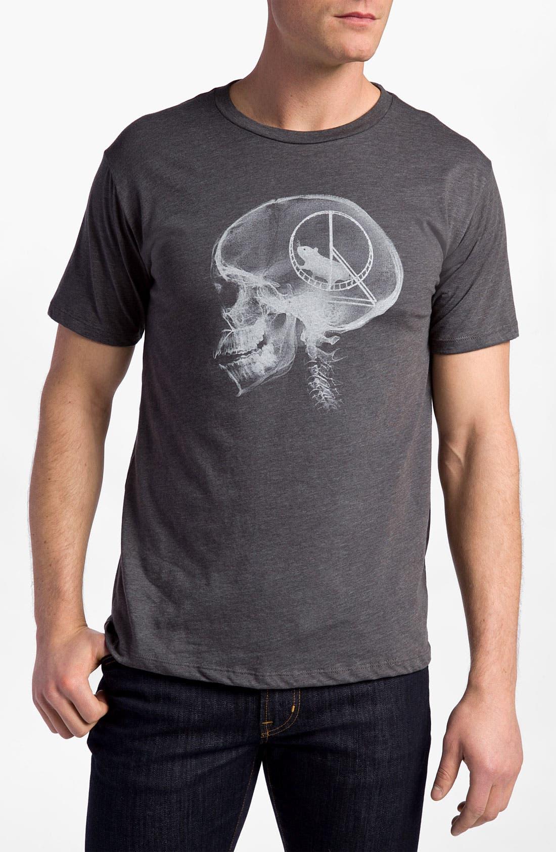 Alternate Image 1 Selected - Headline Shirts 'Hamster Head Scan' T-Shirt