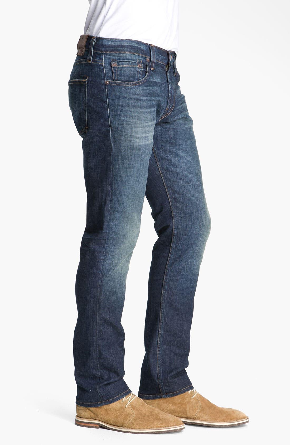 Alternate Image 4  - J Brand 'Kane' Slim Straight Leg Jeans (Javelin)