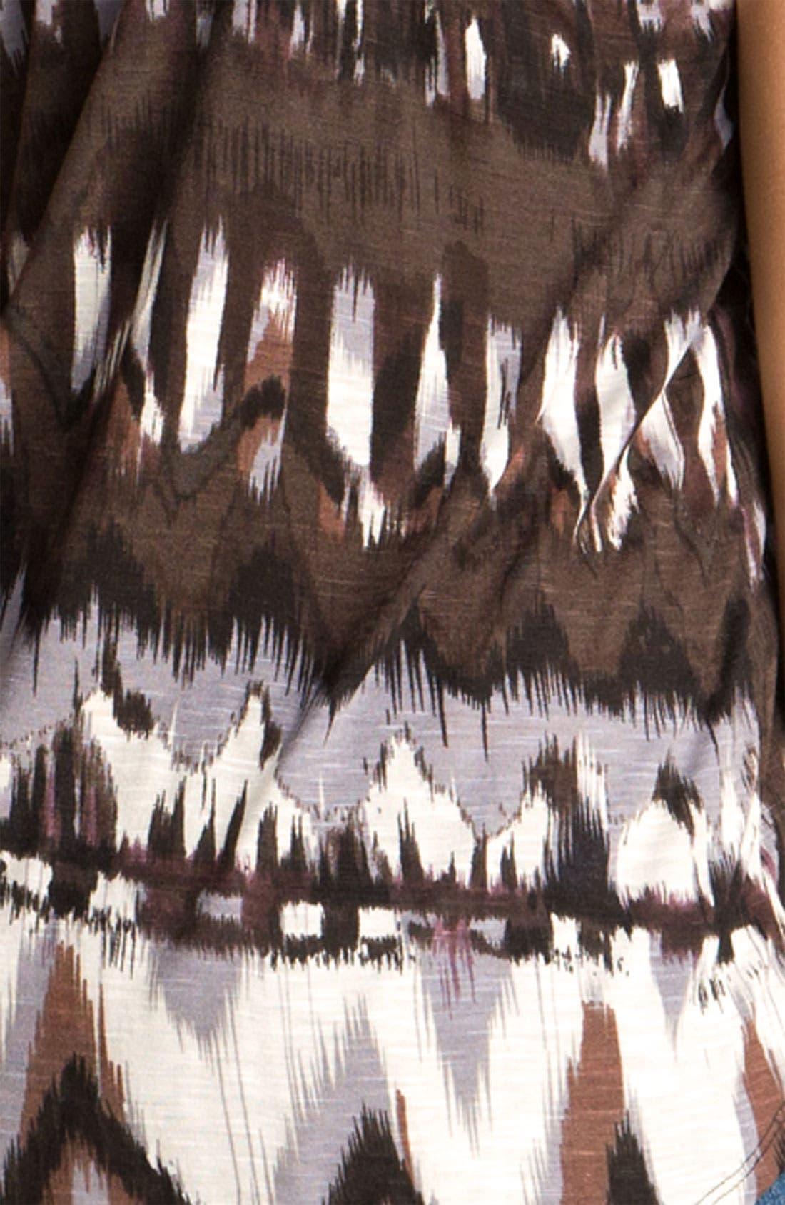 Alternate Image 3  - Ella Moss 'Native' Ikat Print Tank