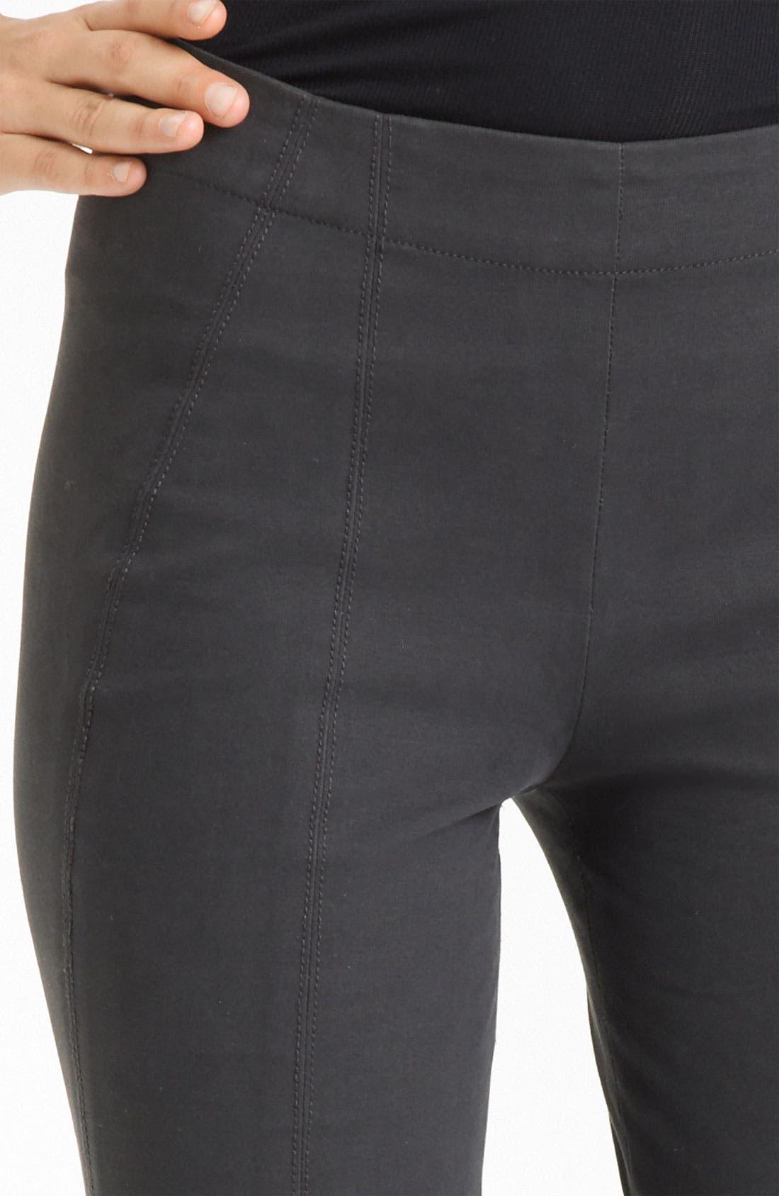 Alternate Image 2  - Donna Karan Collection Matte Stretch Cotton Leggings