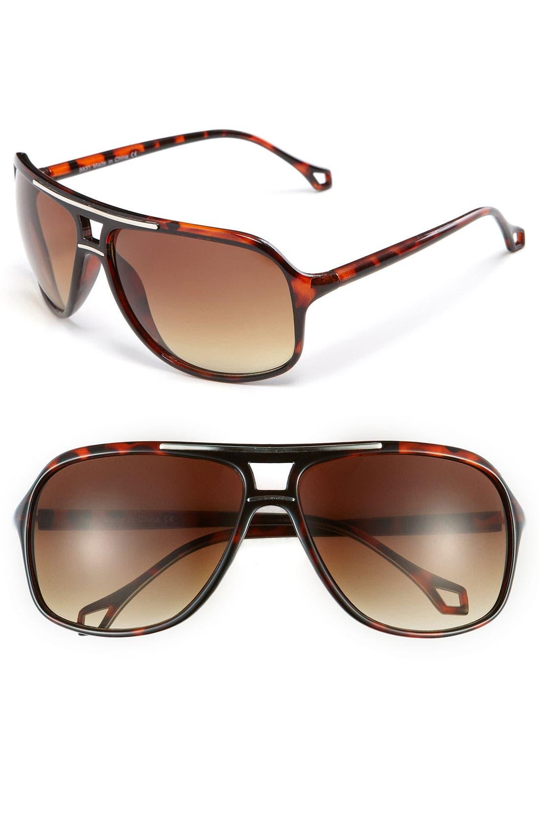 Alternate Image 1 Selected - KW 'Bolt' Sunglasses