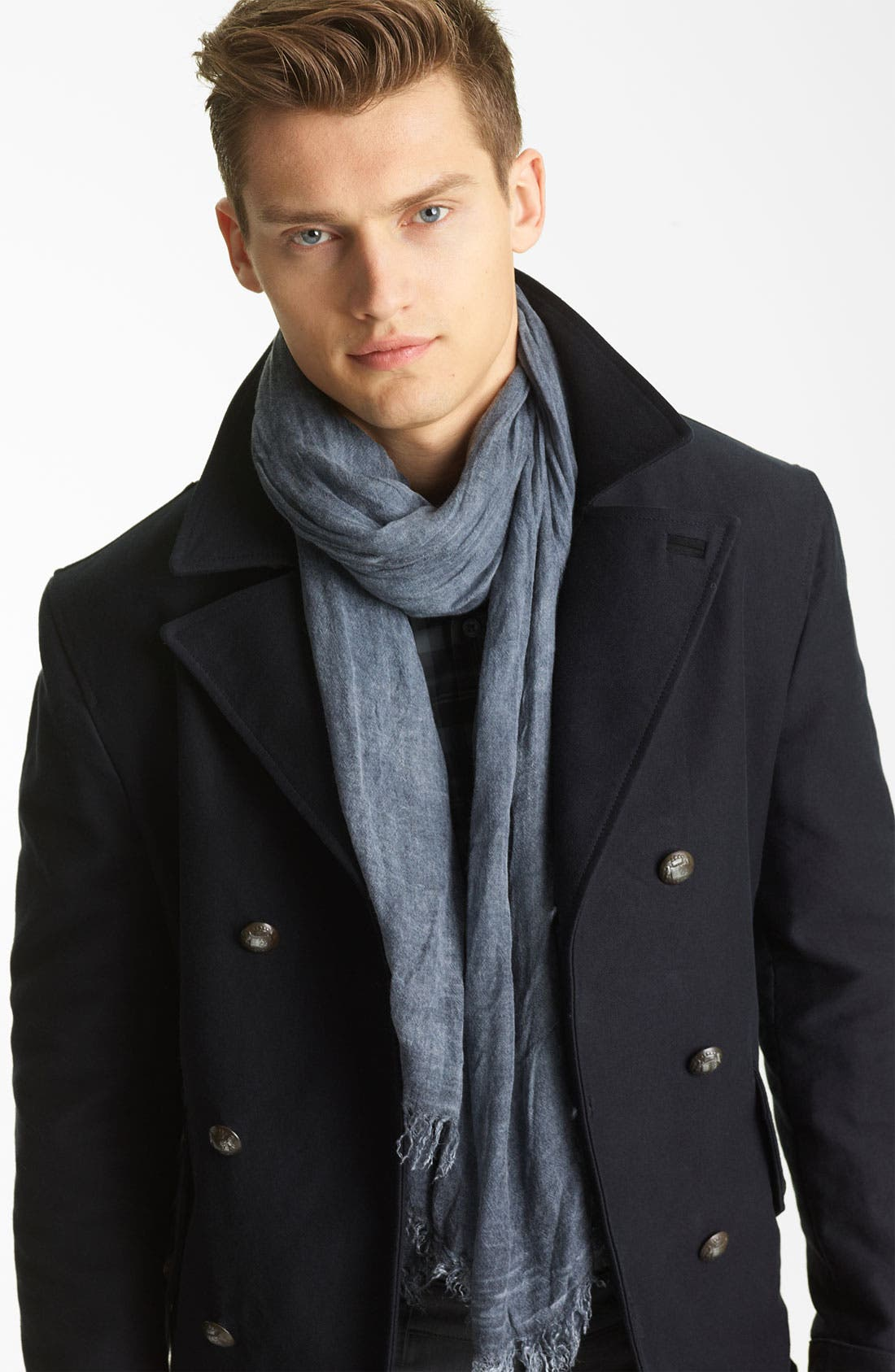 Main Image - John Varvatos Collection Antique Dye Scarf