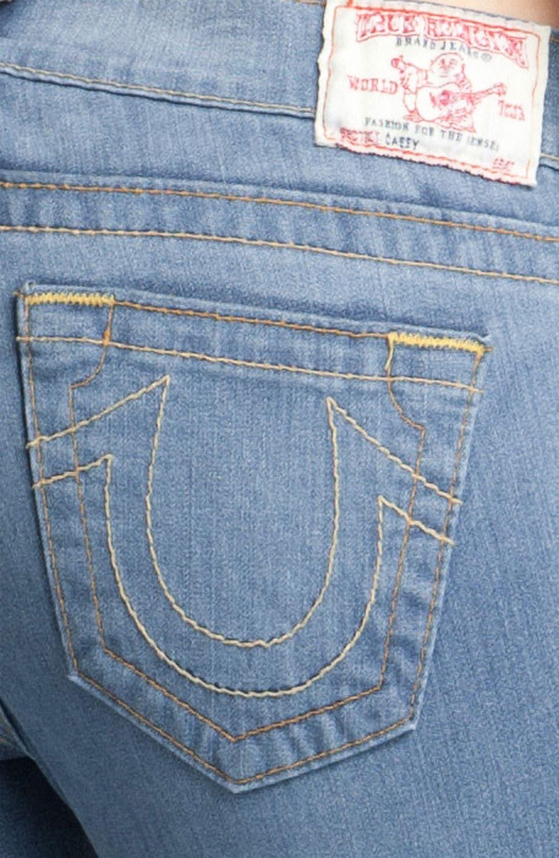 Alternate Image 3  - True Religion Brand Jeans 'Casey' Skinny Stretch Jeans (Stingray)