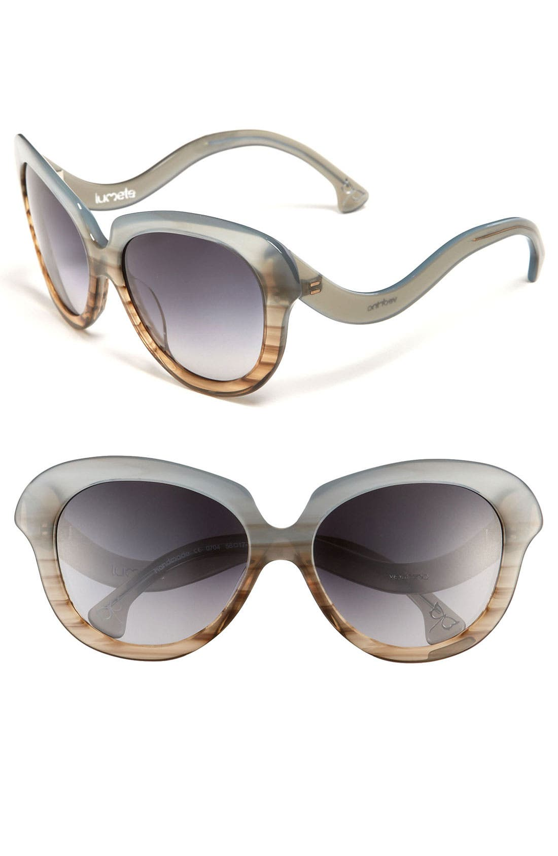 Alternate Image 1 Selected - Lumete Eyewear 'Vedrina' Sunglasses