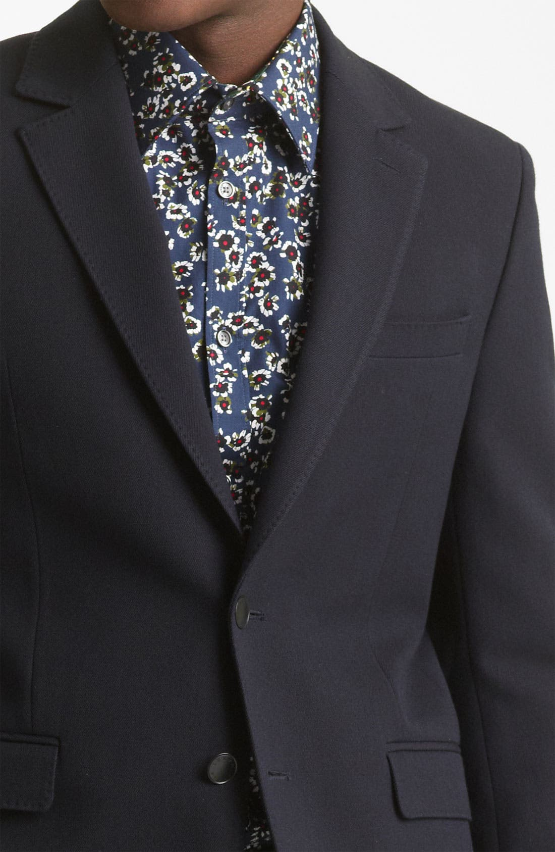 Alternate Image 3  - KENZO Wool Blend Blazer