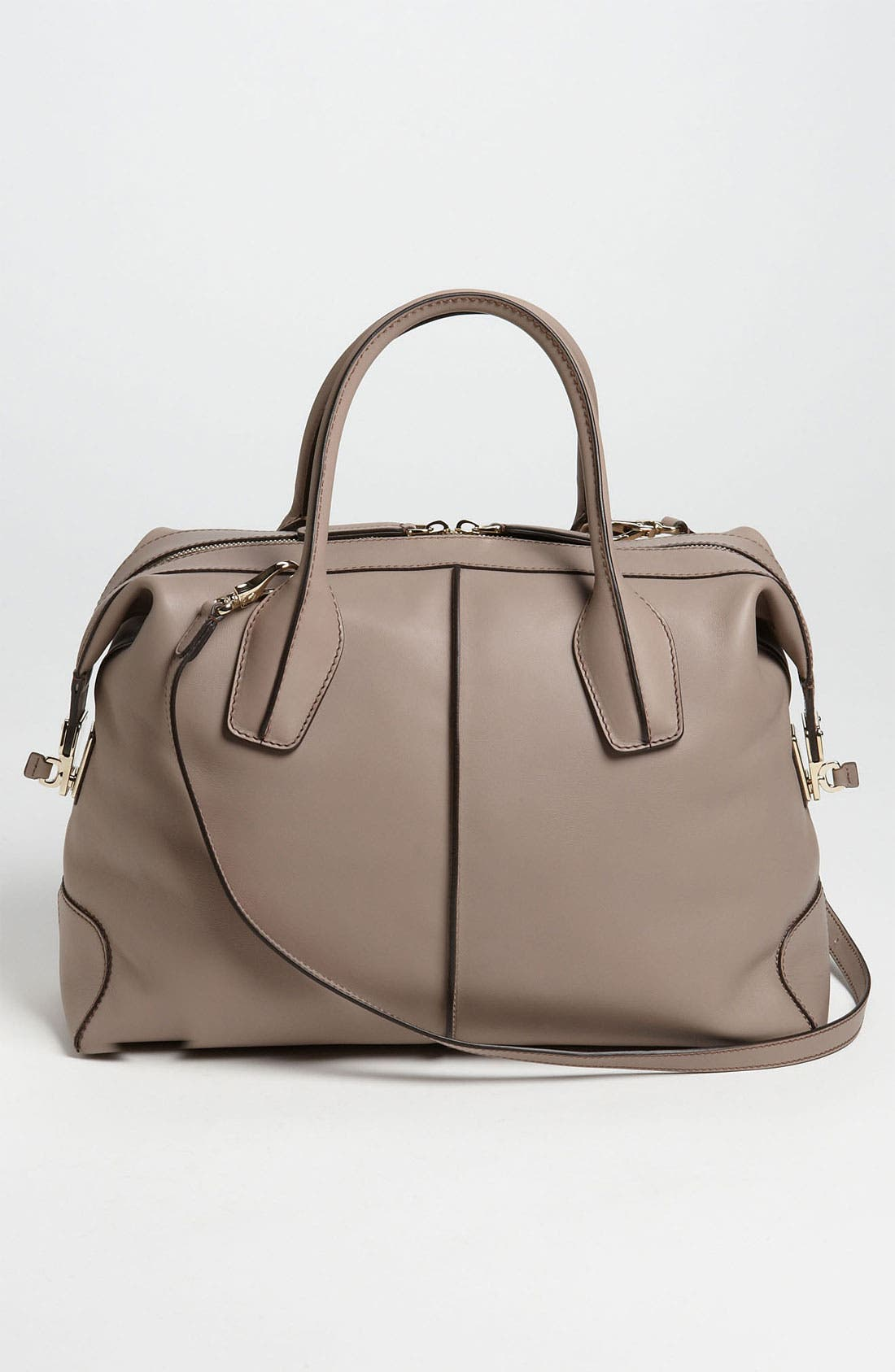 Alternate Image 4  - Tod's 'Small D-Styling' Leather Satchel
