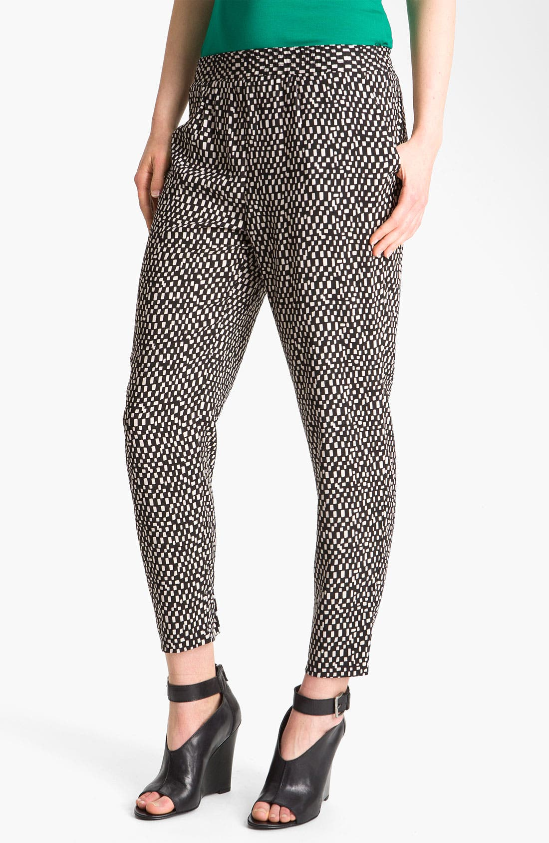 Main Image - Vince Camuto 'Spaced Tiles' Pegged Pants
