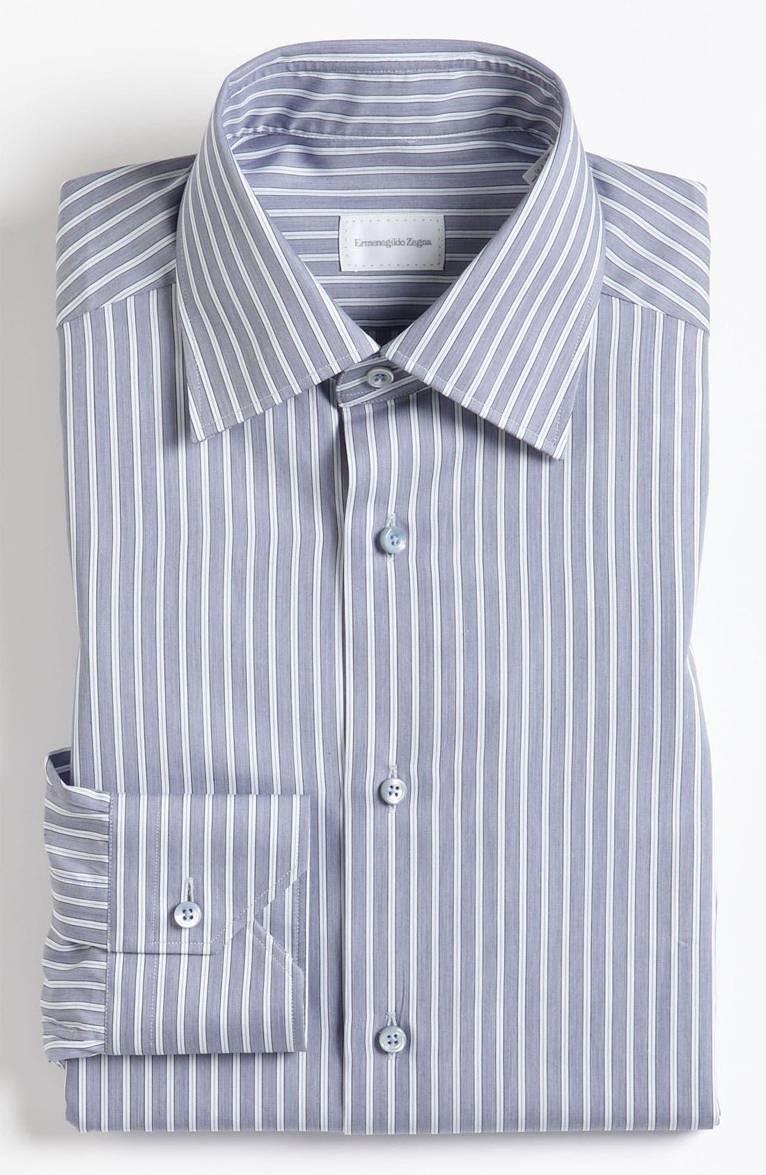 Main Image - Ermenegildo Zegna Tailored Fit Dress Shirt