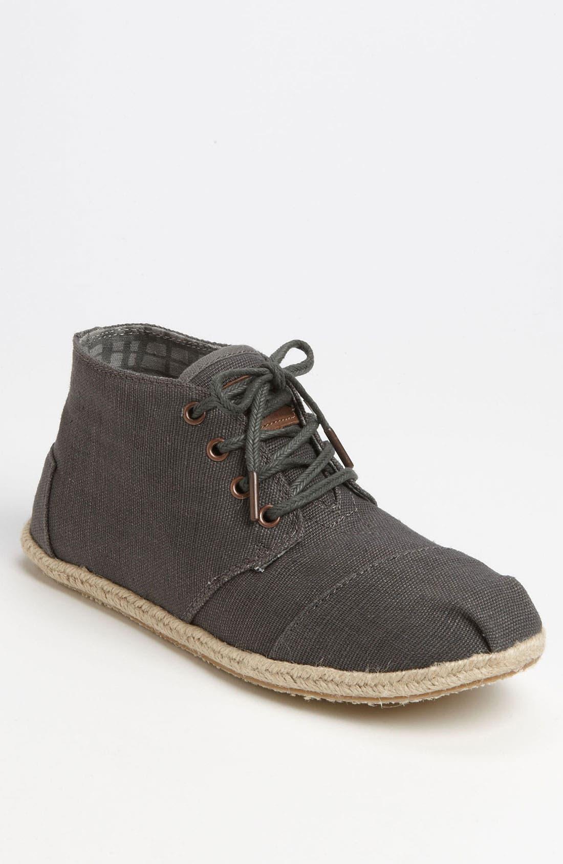 Alternate Image 1 Selected - TOMS 'Botas - Desert' Burlap Chukka Boot (Men)