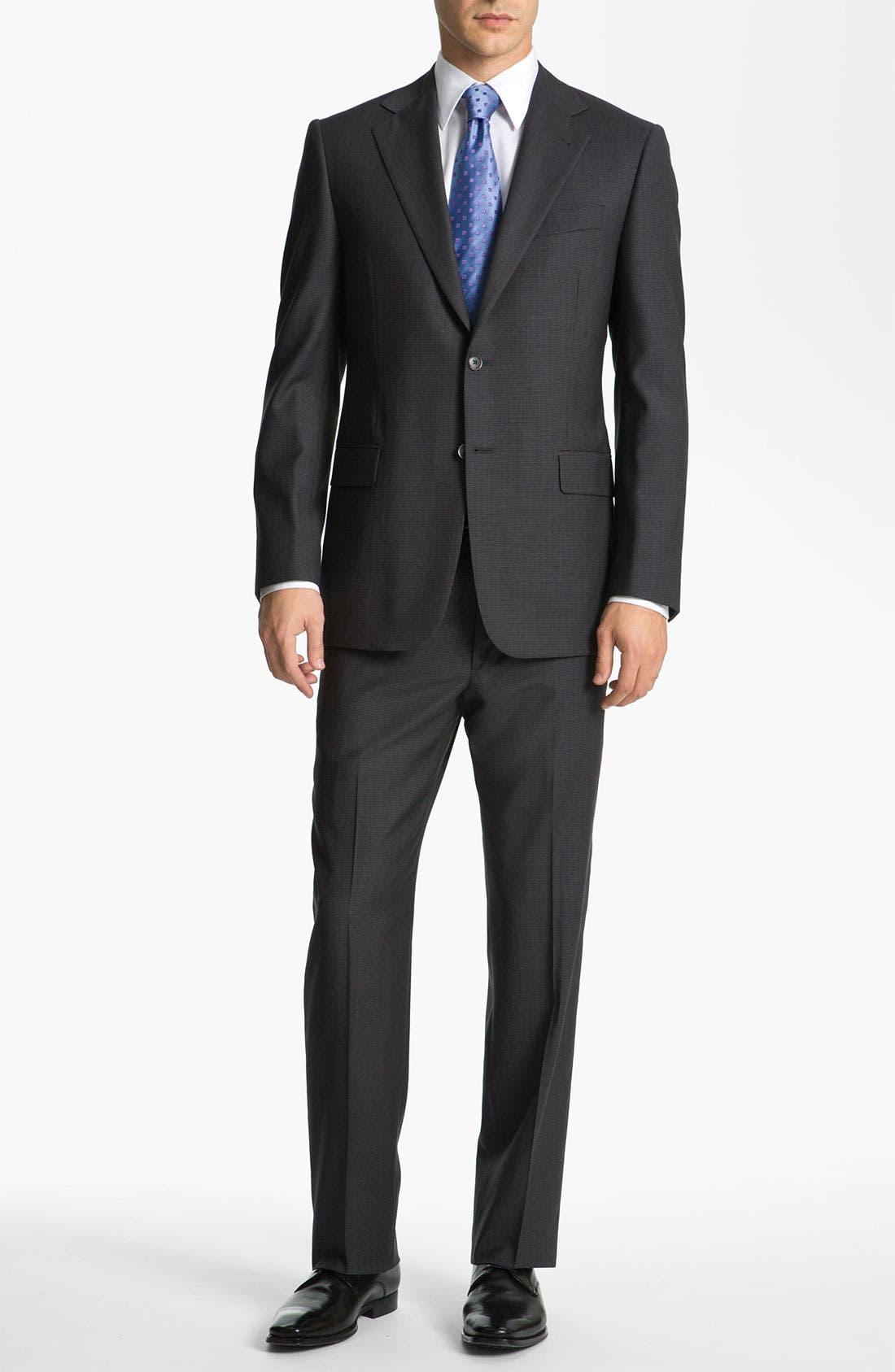 Alternate Image 2  - Joseph Abboud 'Signature Silver' Check Suit