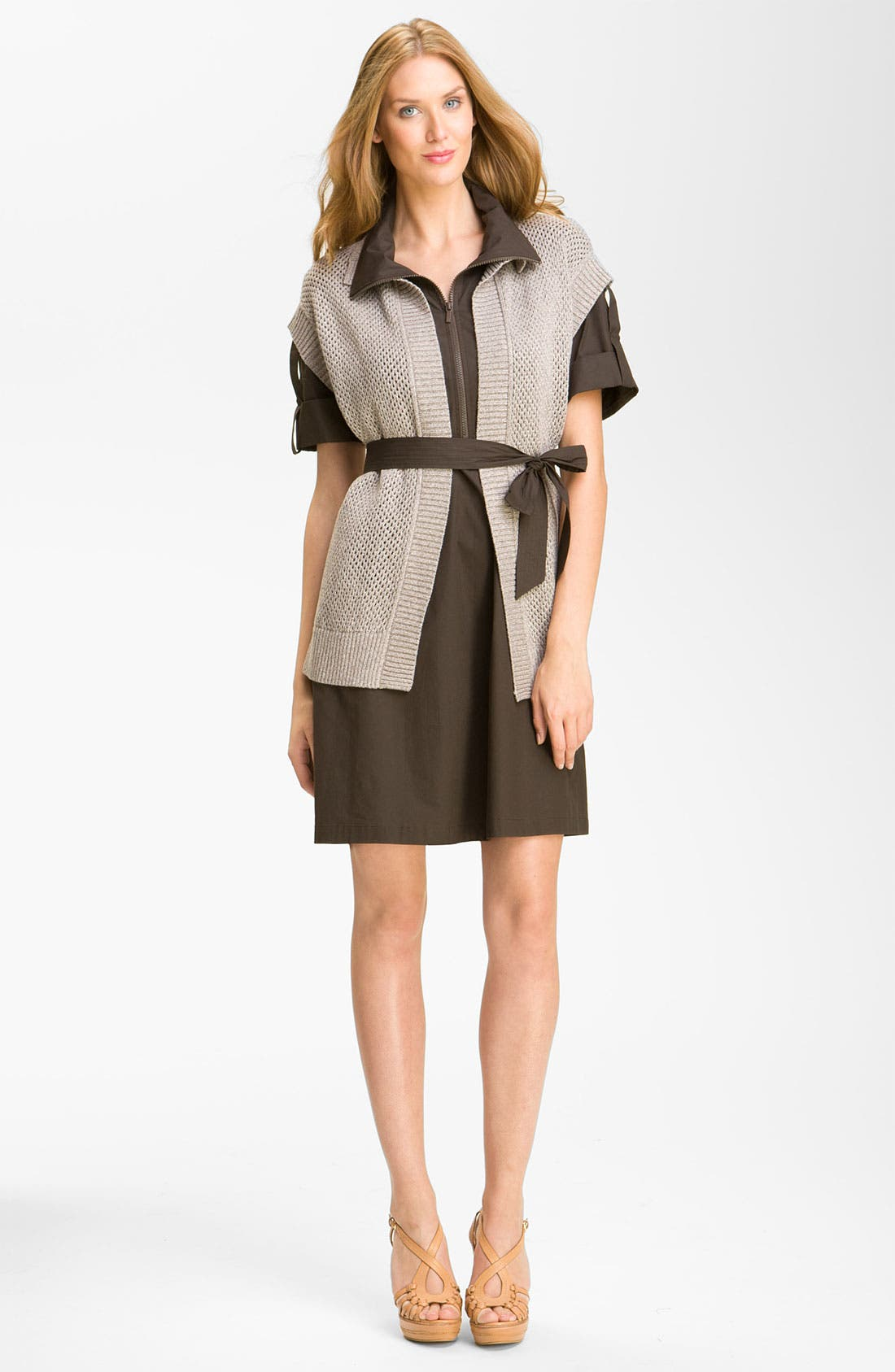 Alternate Image 4  - Lafayette 148 New York Shirtdress