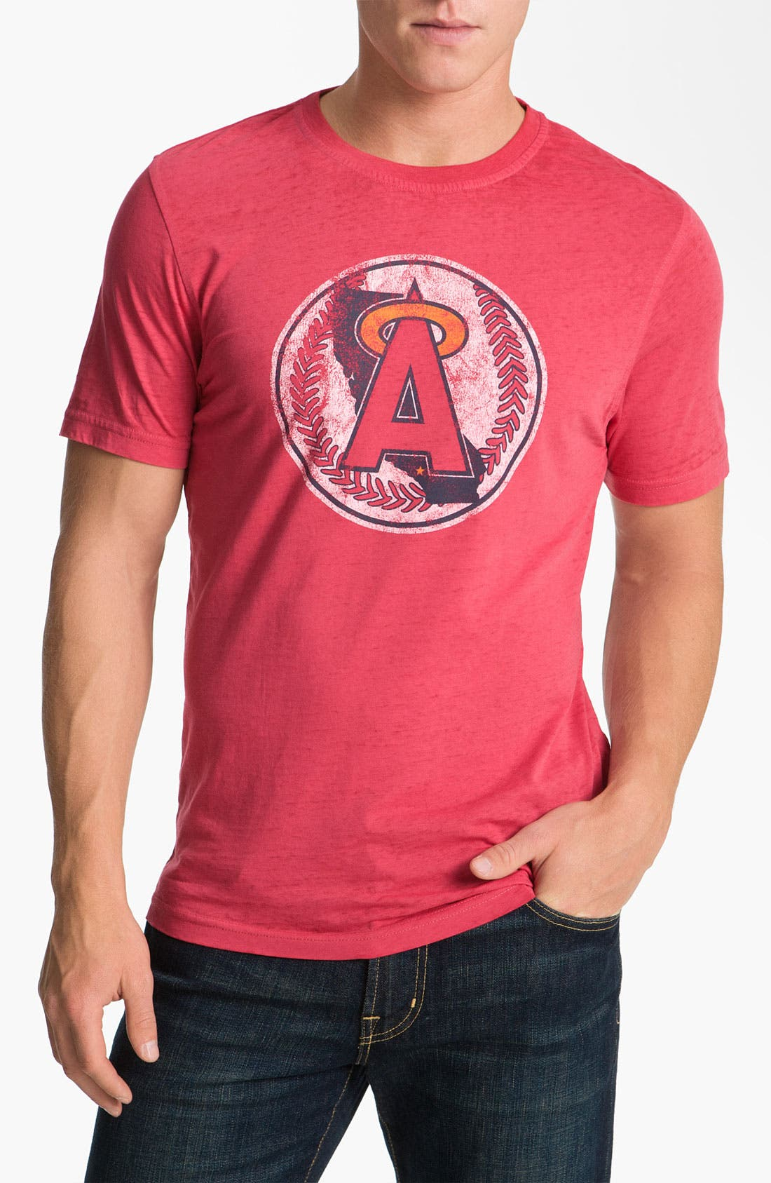 Alternate Image 1 Selected - Red Jacket 'Angels - Greenwood' T-Shirt