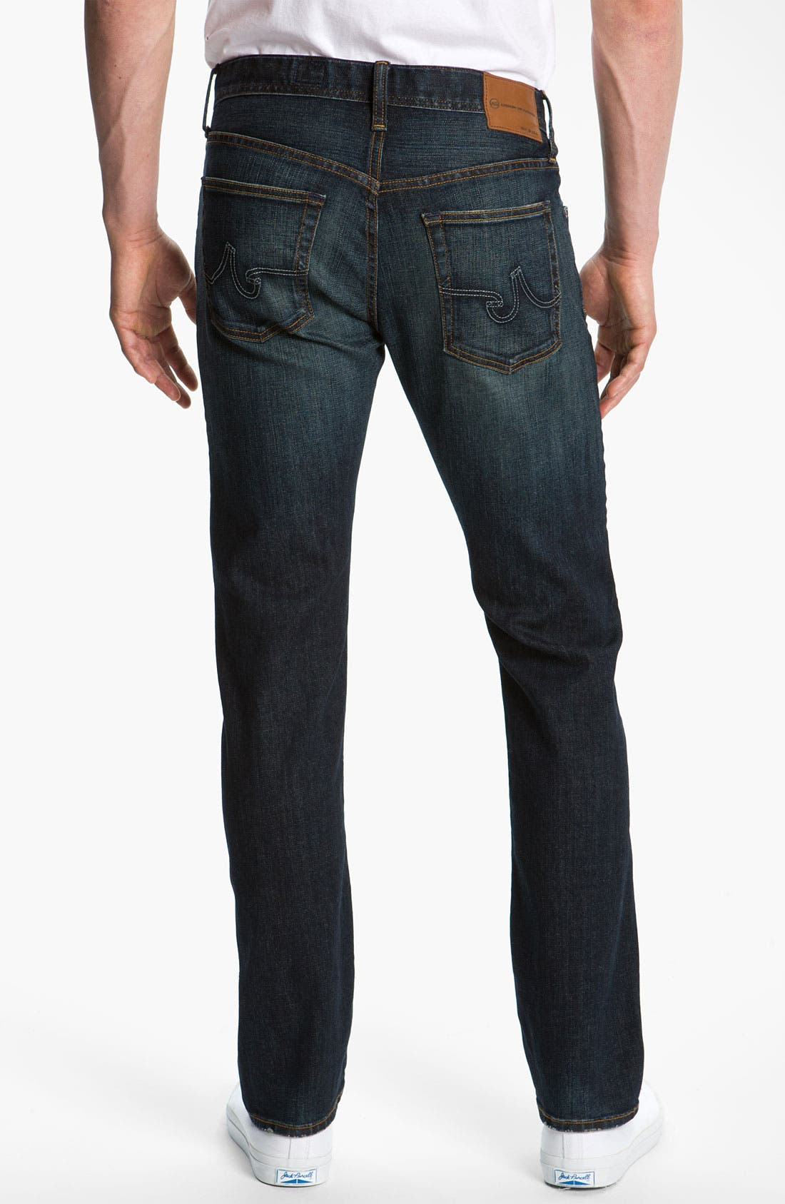 Alternate Image 2  - AG Jeans 'Geffen Easy Slim' Straight Leg Jeans (Roast)
