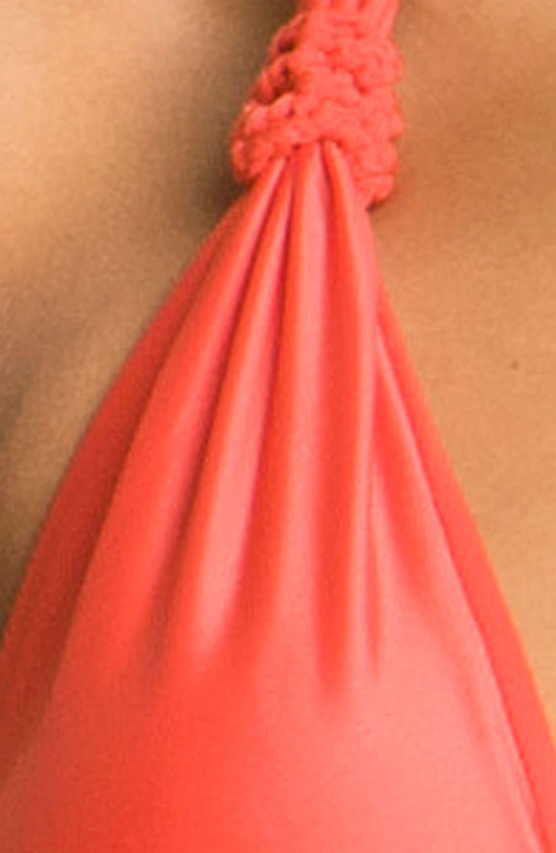 Alternate Image 3  - ViX Swimwear Knot Detailed Triangle Bikini Top