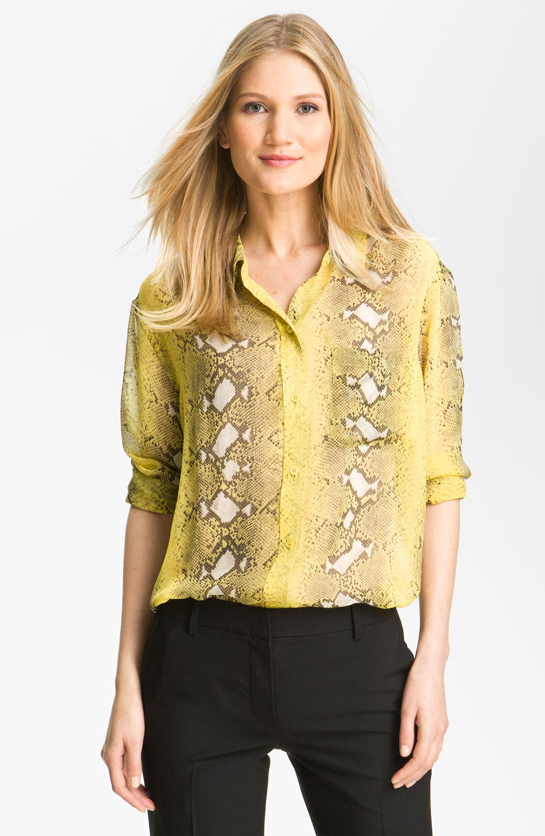 Alternate Image 1 Selected - Equipment 'Daddy' Print Blouse