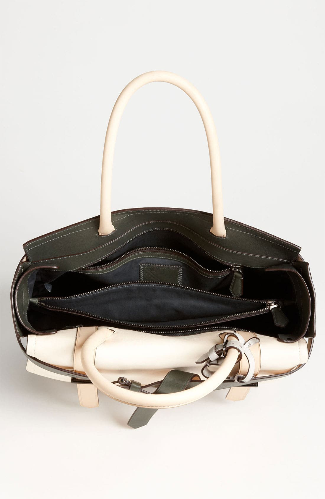Alternate Image 3  - Reed Krakoff 'Boxer I' Tricolor Leather Satchel, Large