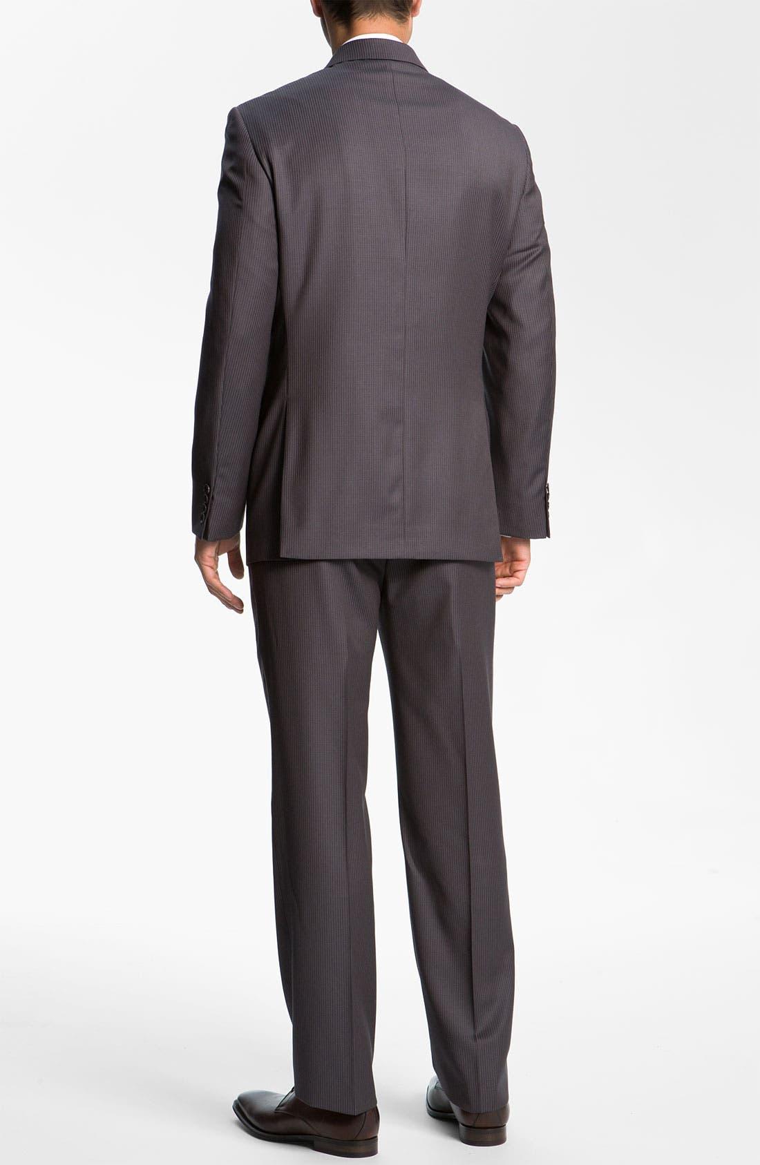 Alternate Image 3  - Joseph Abboud Pinstripe Suit