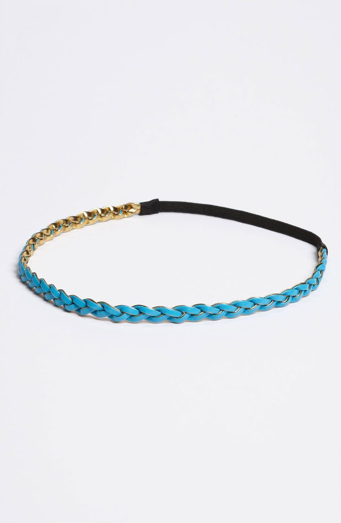 Main Image - Lulu Reversible Braided Headband