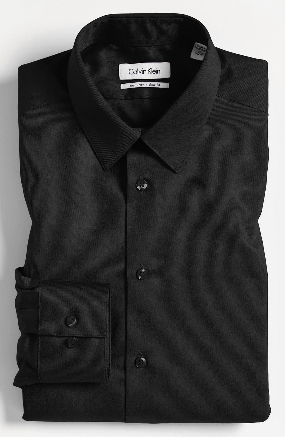 Main Image - Calvin Klein Slim Fit Non-Iron Dress Shirt (Online Only)