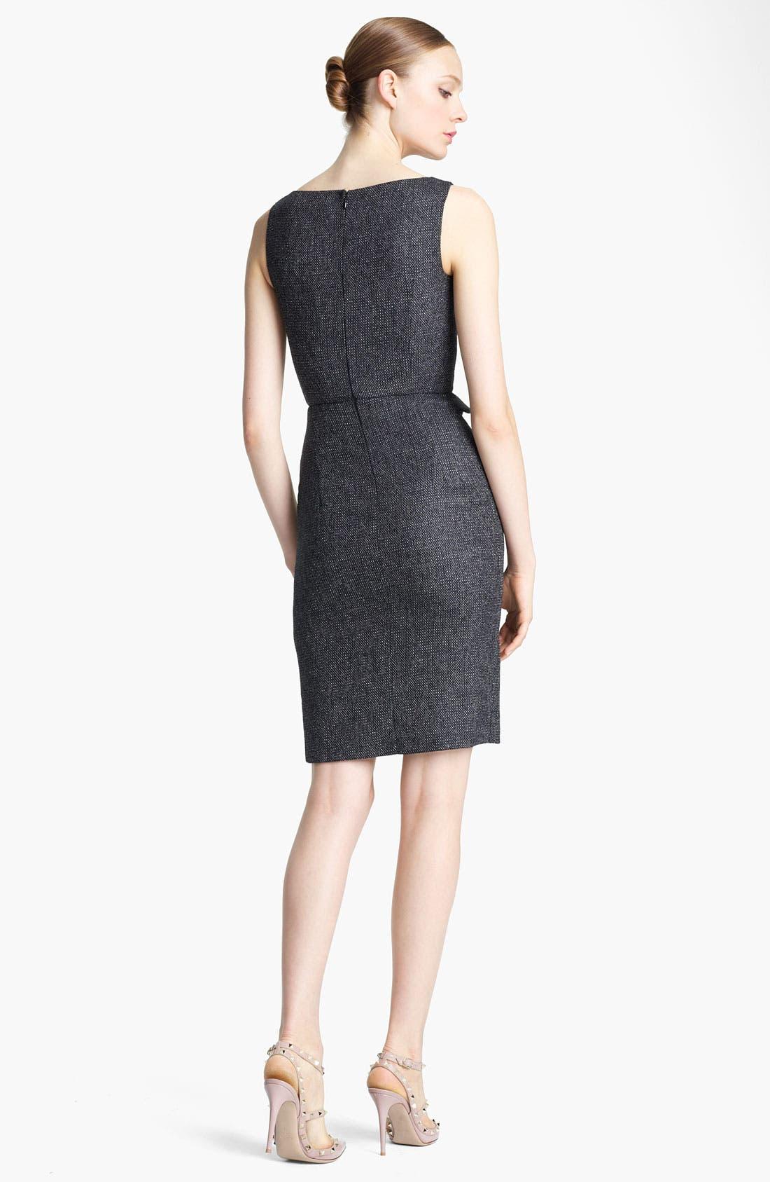 Alternate Image 2  - Valentino Ruffle Detail Tweed Dress