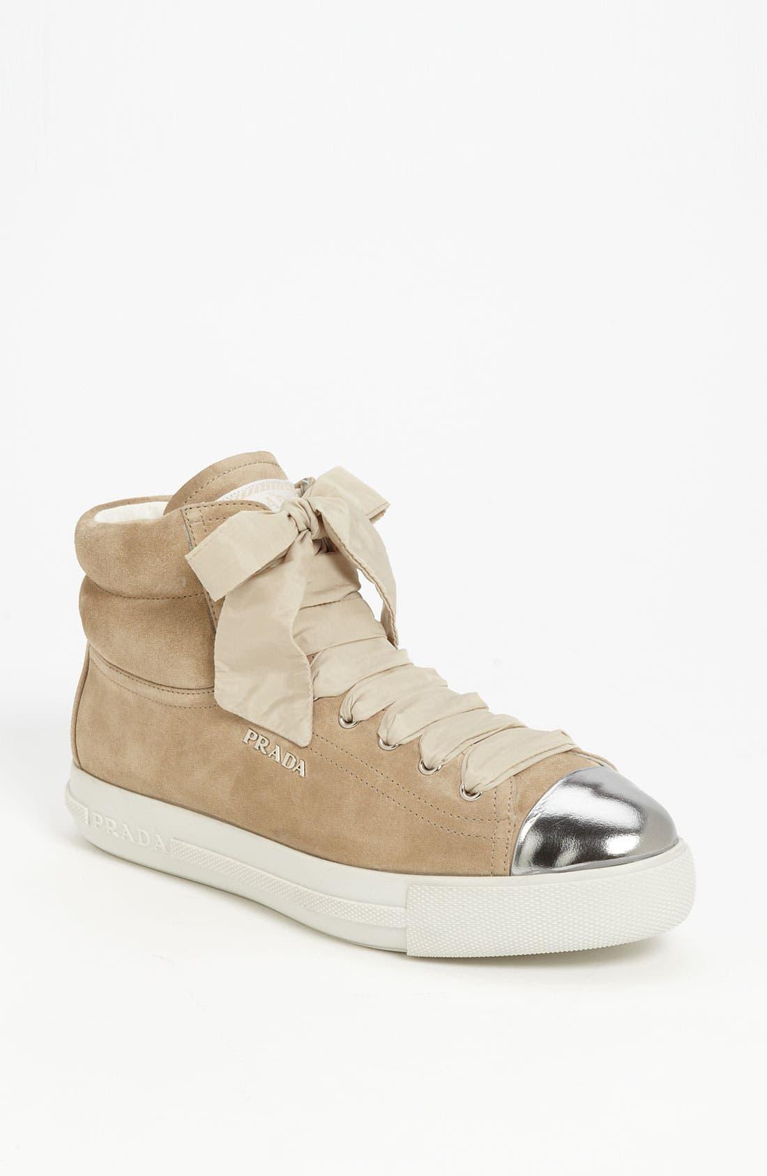 Main Image - Prada High Sneaker