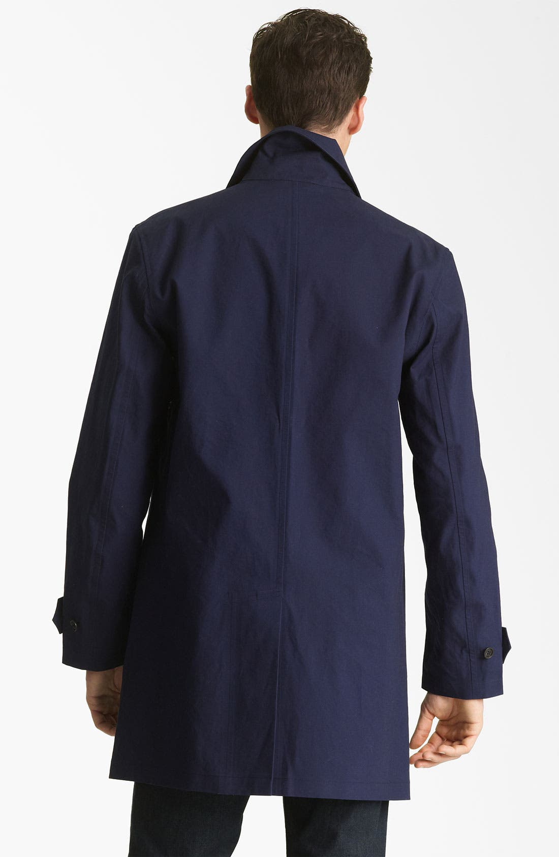 Alternate Image 2  - Jack Spade Bonded Raincoat