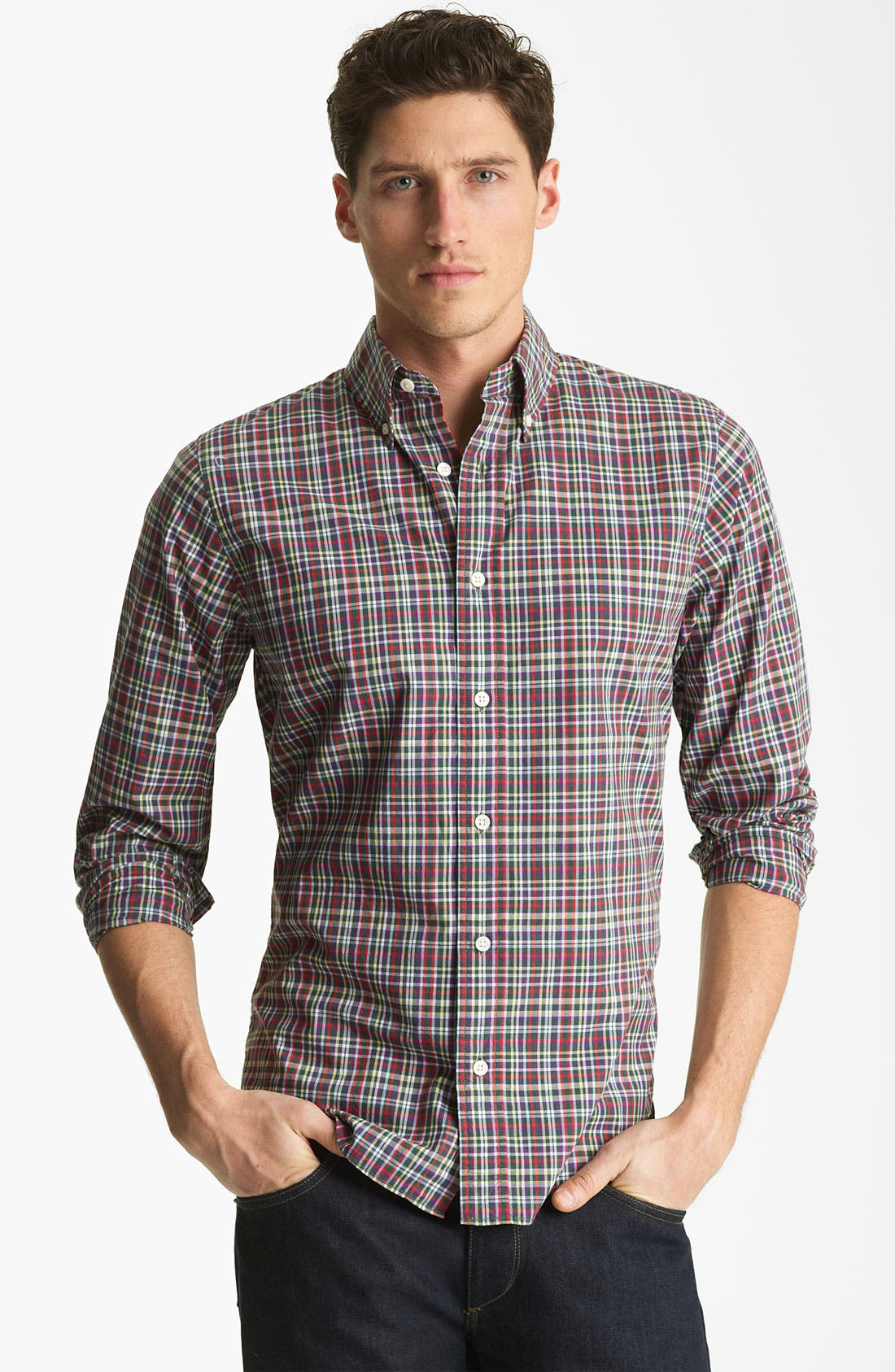 Alternate Image 1 Selected - Jack Spade 'Epen' Sport Shirt