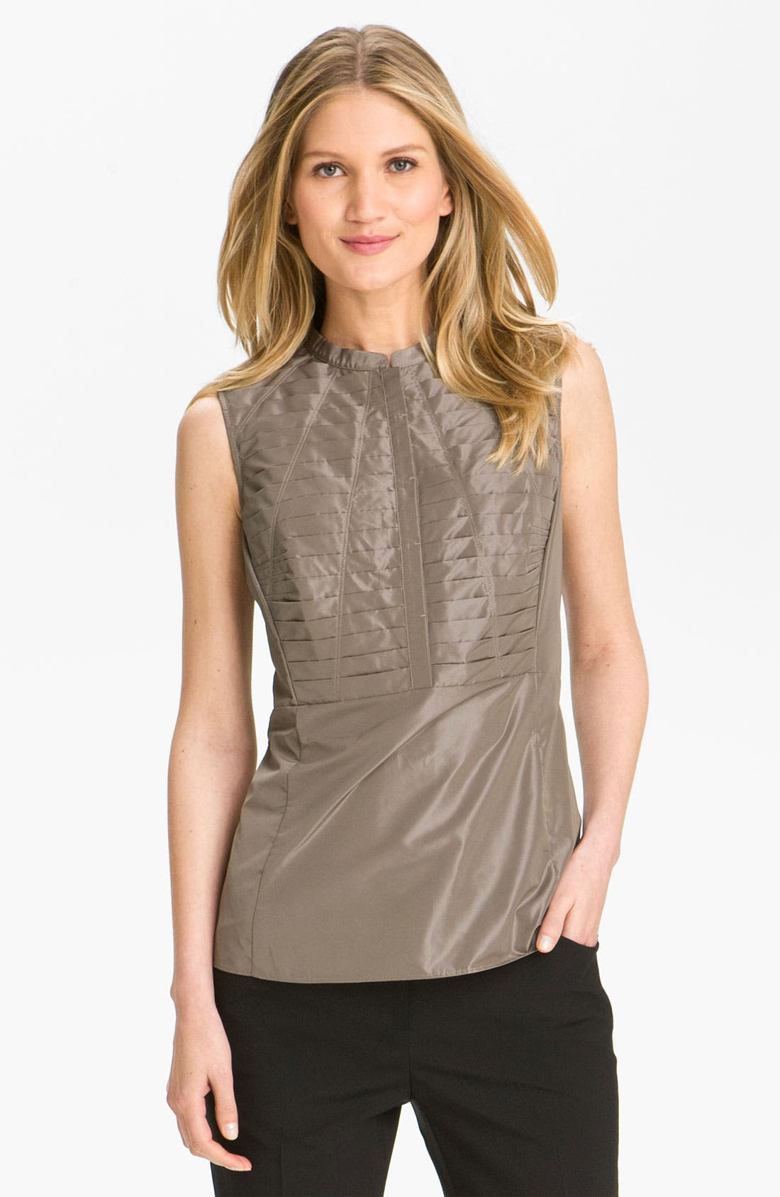 Main Image - Lafayette 148 New York 'Chelsea Shine Marney' Blouse