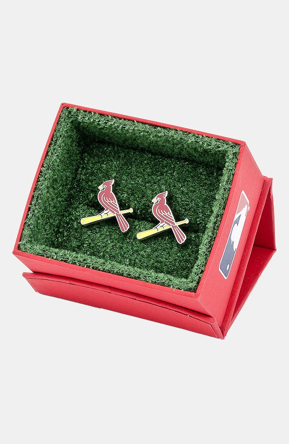 Alternate Image 2  - Cufflinks, Inc. 'St. Louis Cardinals' Cuff Links