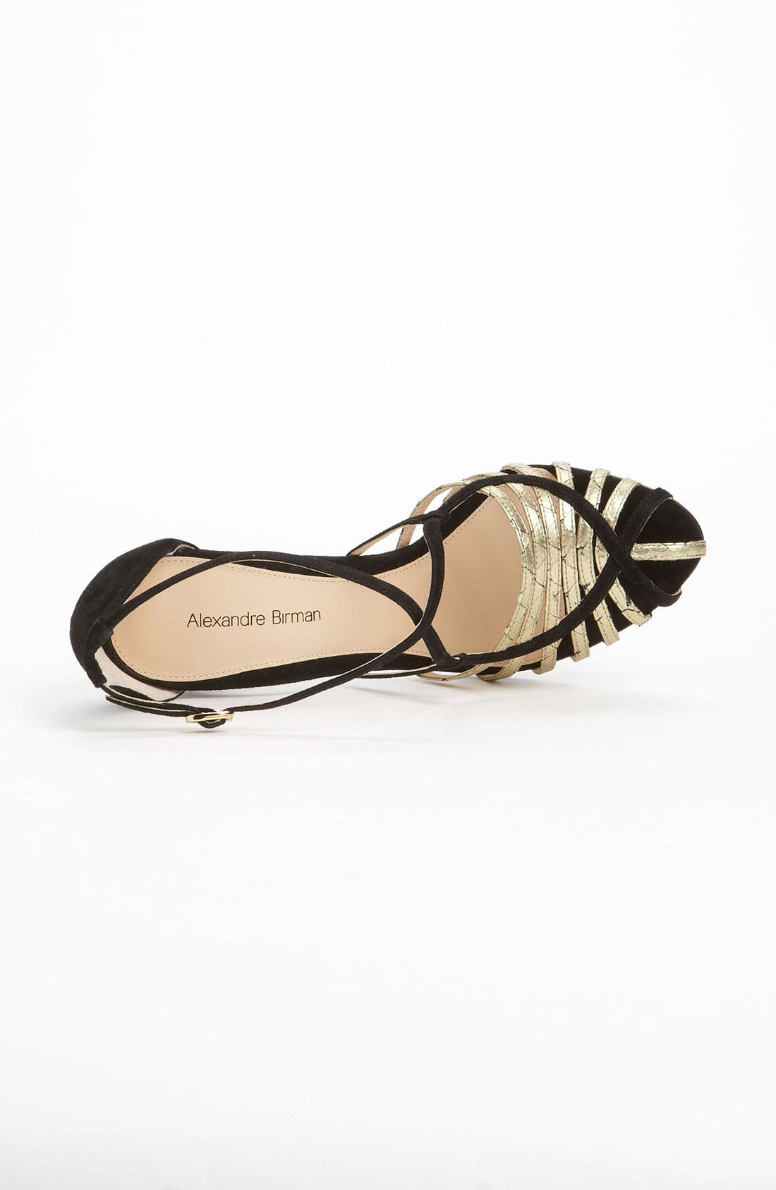 Alternate Image 3  - Alexandre Birman Genuine Python Strap Sandal (Exclusive Color)
