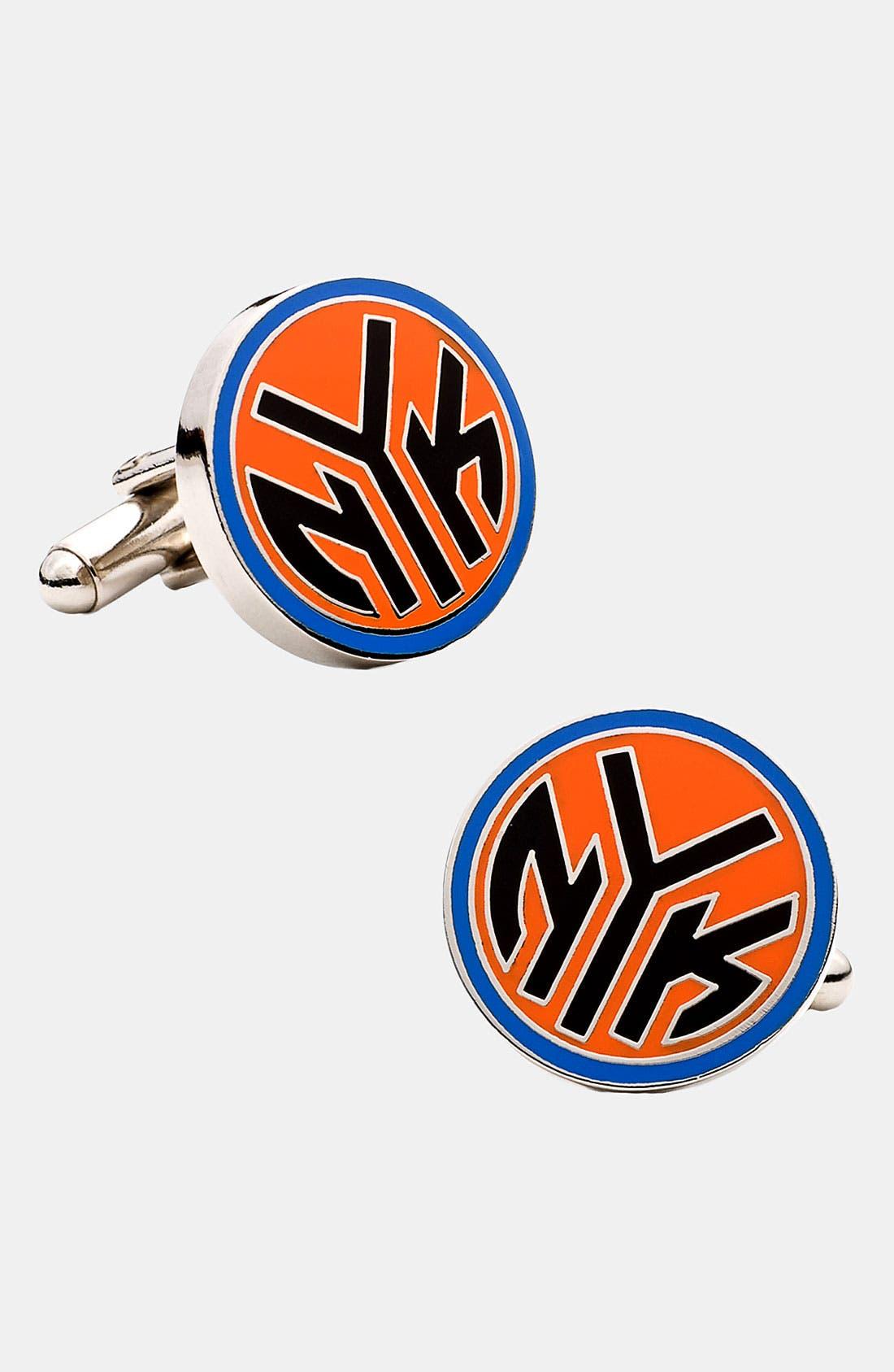 Alternate Image 1 Selected - Cufflinks, Inc. 'New York Knicks' Cuff Links