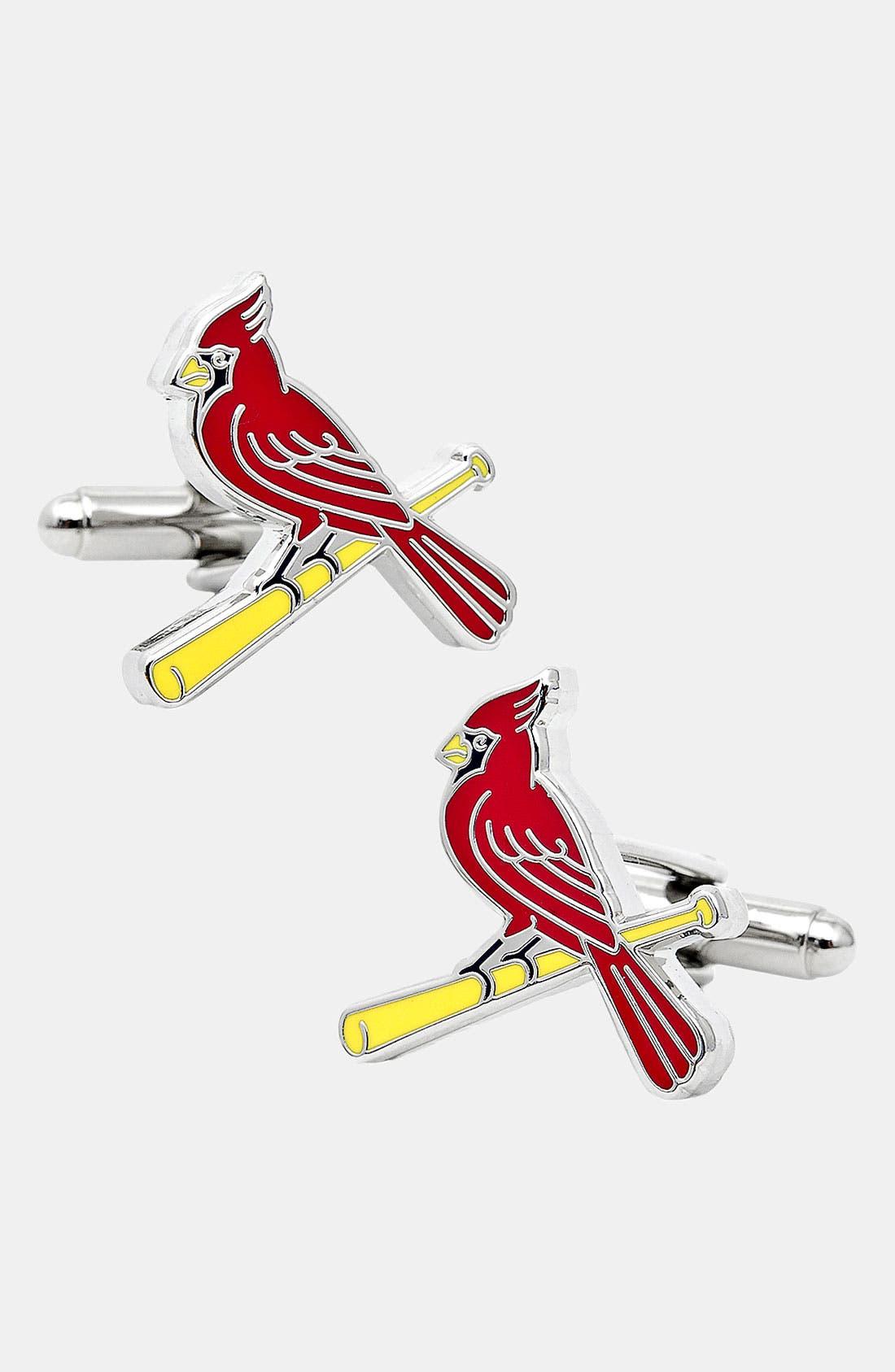 Main Image - Cufflinks, Inc. 'St. Louis Cardinals' Cuff Links