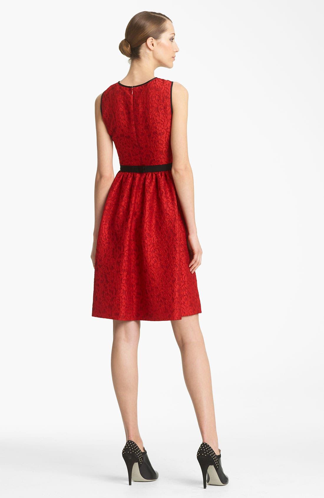 Alternate Image 2  - Jason Wu Lace Jacquard Dress