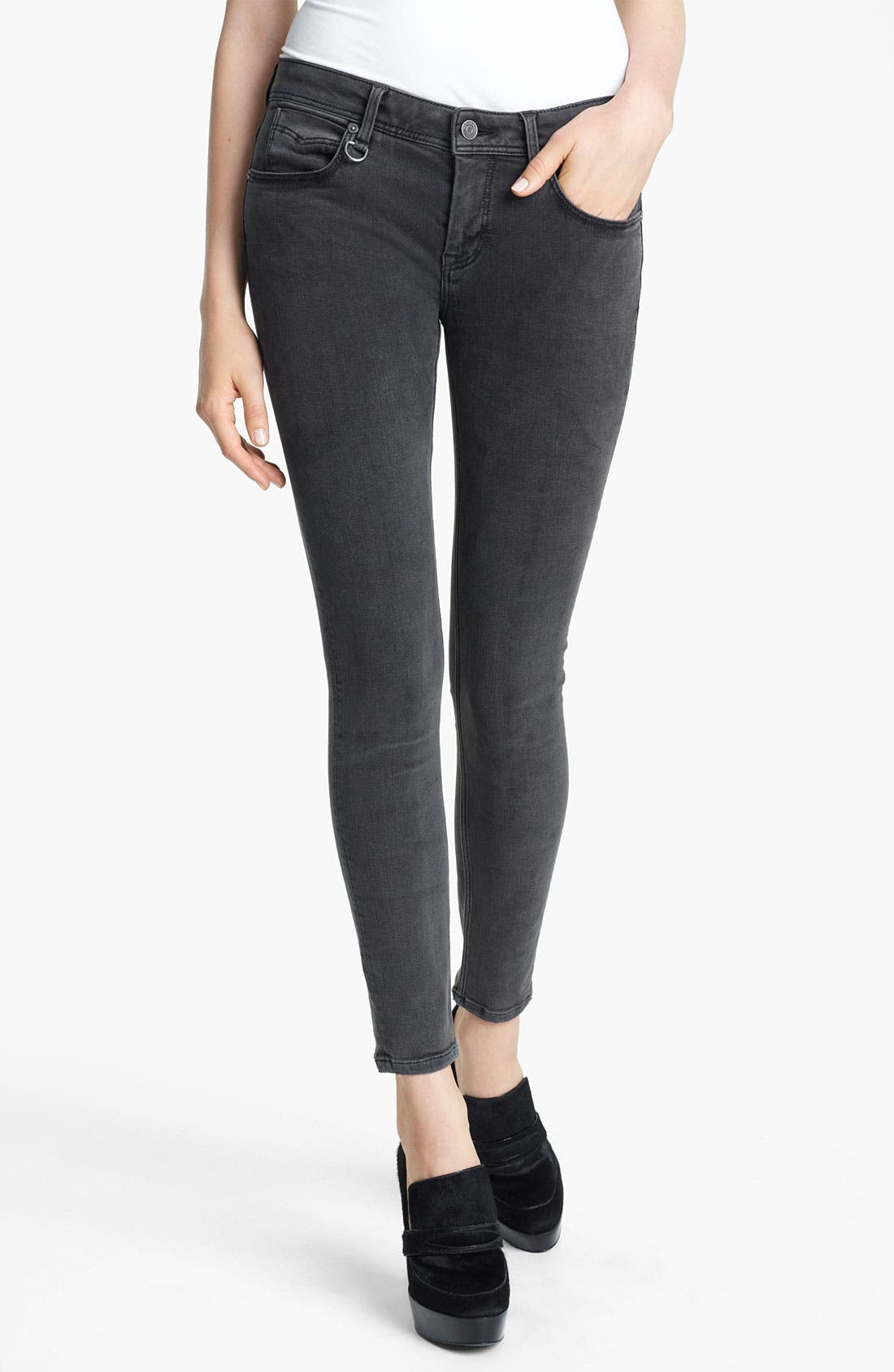 Alternate Image 1 Selected - Burberry Brit Skinny Jeans