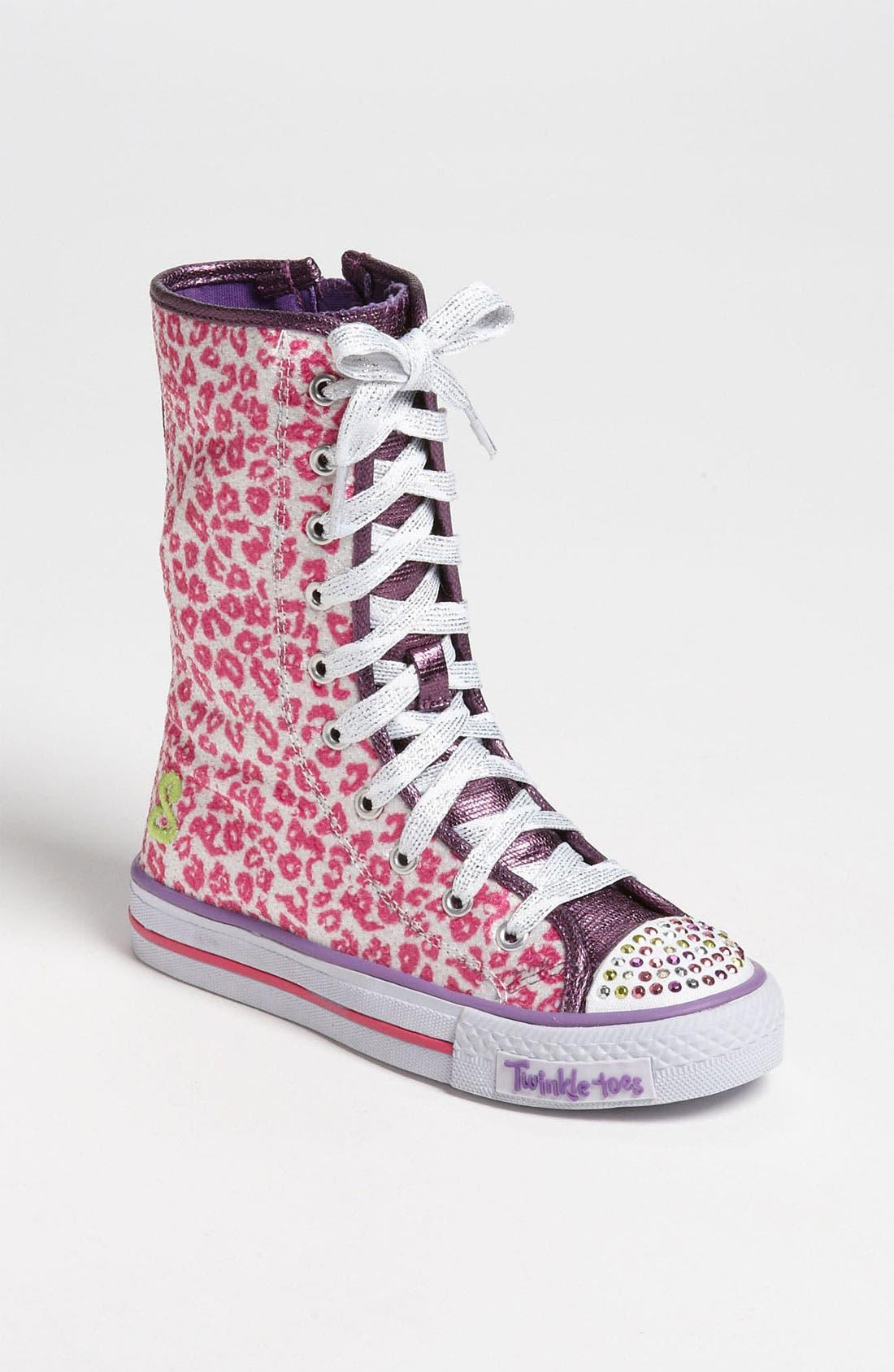 Alternate Image 1 Selected - SKECHERS 'Shuffles - Notorious' Sneaker (Toddler & Little Kid)